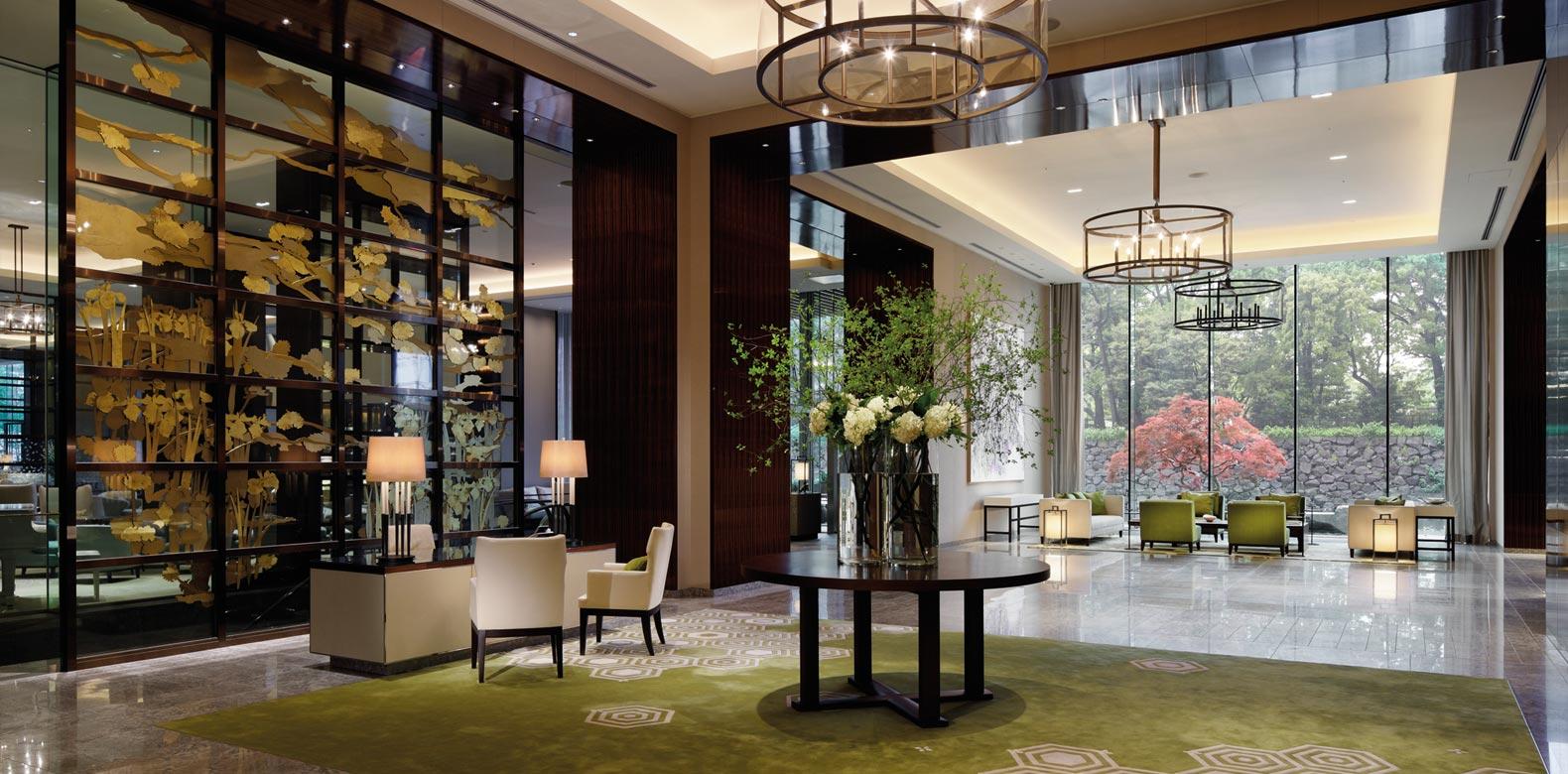 Palace Hotel Tokyo Lobby2 ART HOTEL NEL MONDO