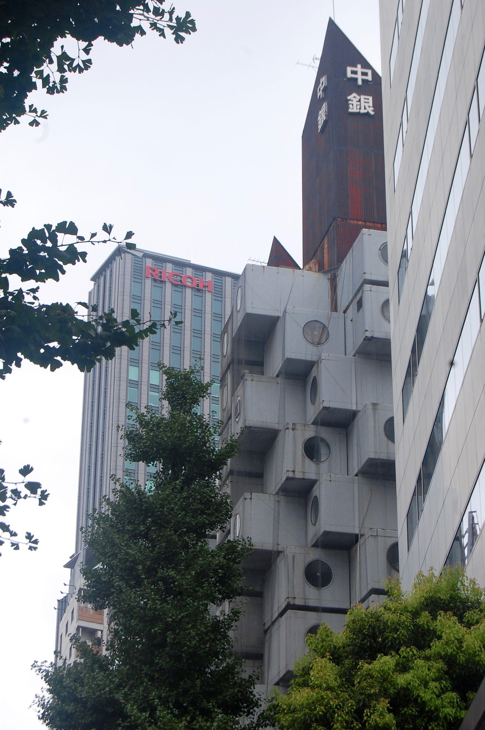 Nakagin Capsule Tower VIAGGIO A TOKYO
