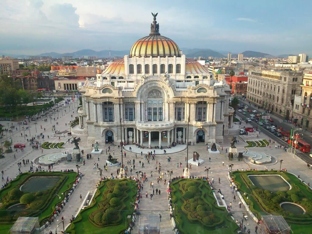 Palacio de Bellas Artes VAMOS À MEXICO