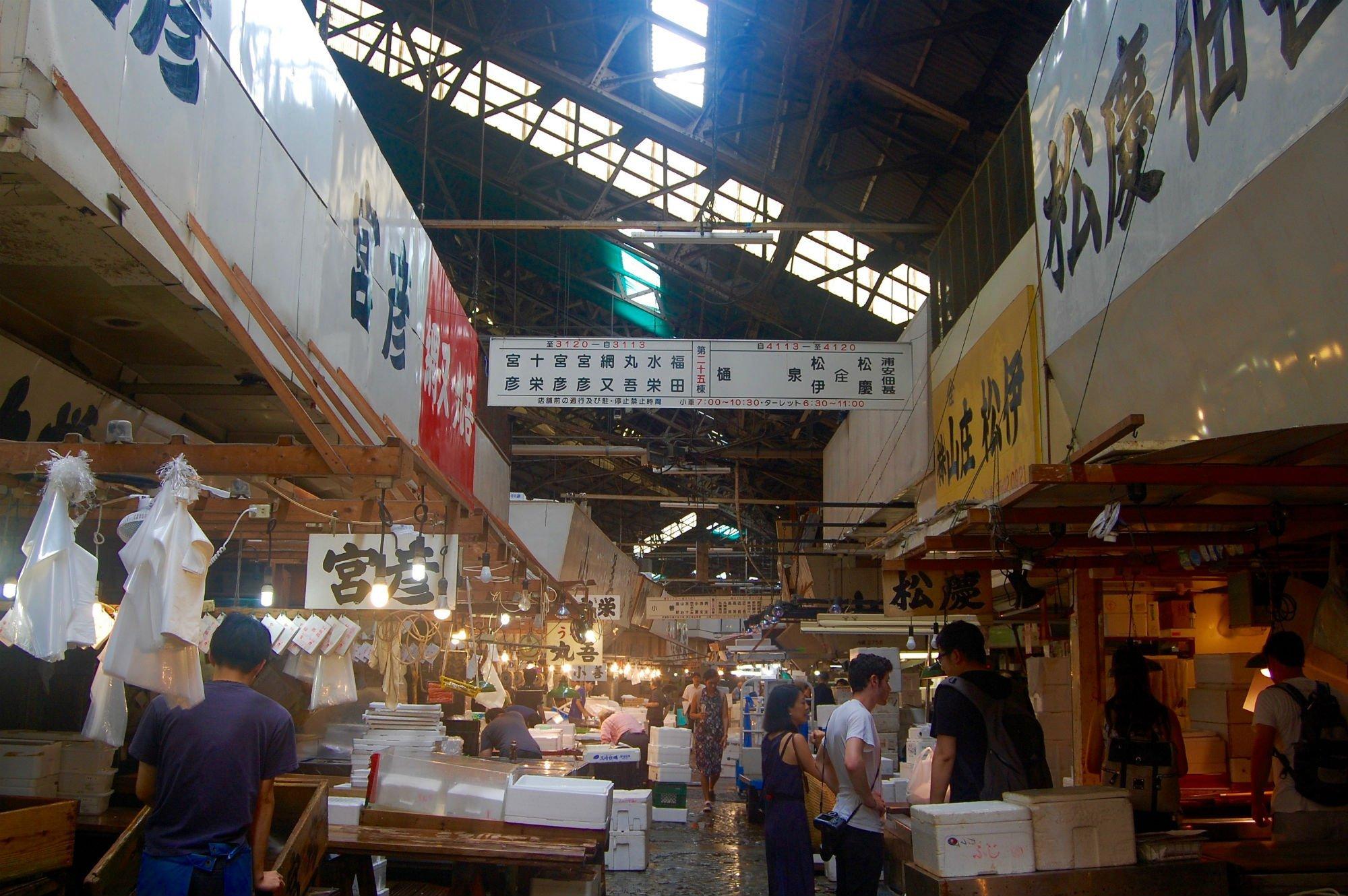 TOKYO MERCATO DEL PESCE2 VIAGGIO A TOKYO