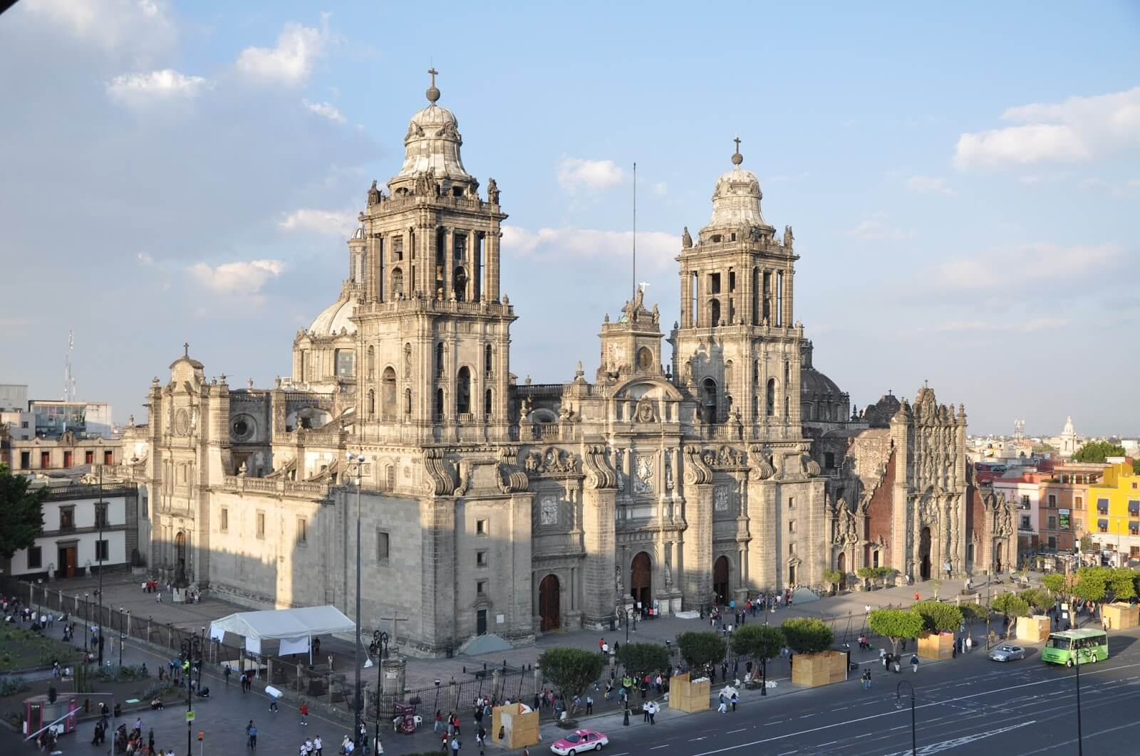 met cathedral mexico city VAMOS À MEXICO