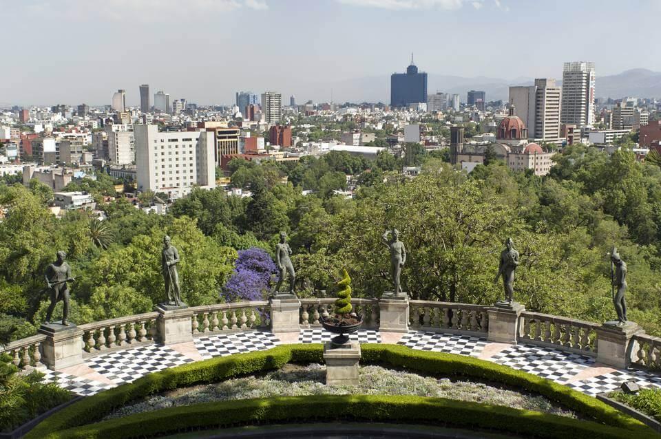 mexico city skyline 154935121 591b3e8d5f9b58f4c021ffb4 VAMOS À MEXICO