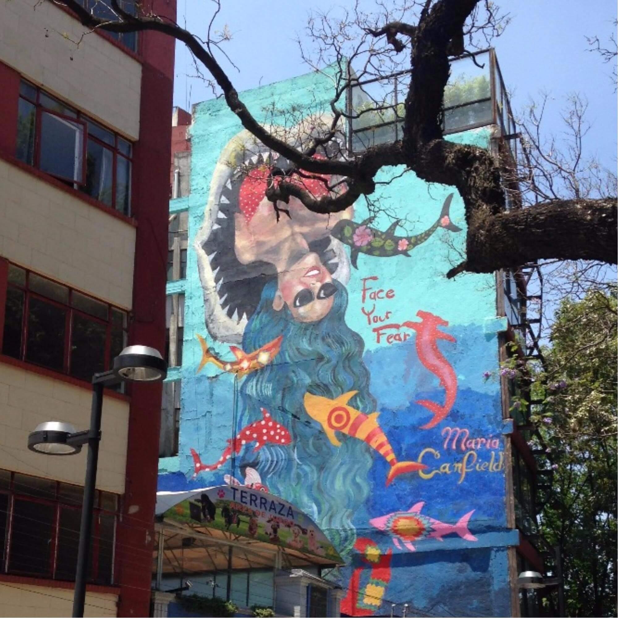 street art mexico city VAMOS À MEXICO