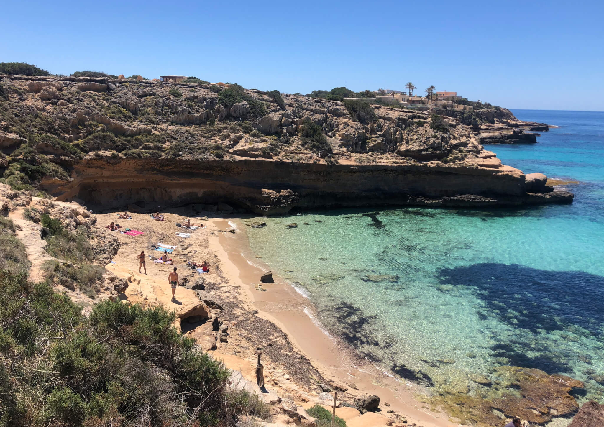 cala comte WEEKEND A IBIZA