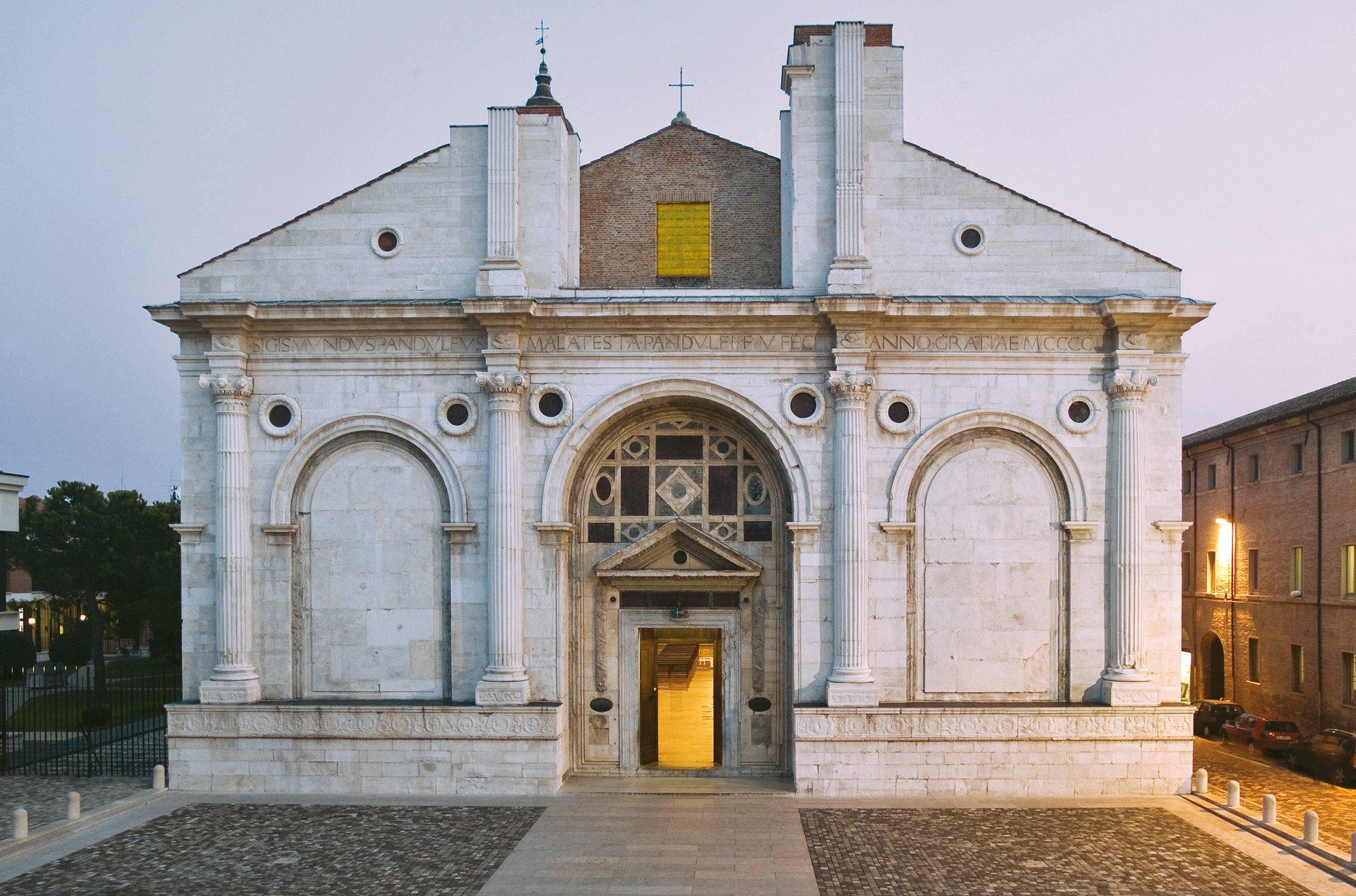tempio malatestiano rimini IL MARE VICINO MILANO