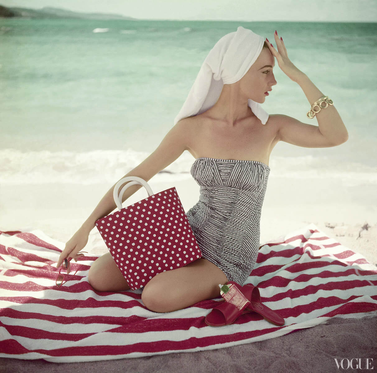 bathing suits in vogue 1954 05 prigent 11424639016 Vademecum estivo in stile k beauty