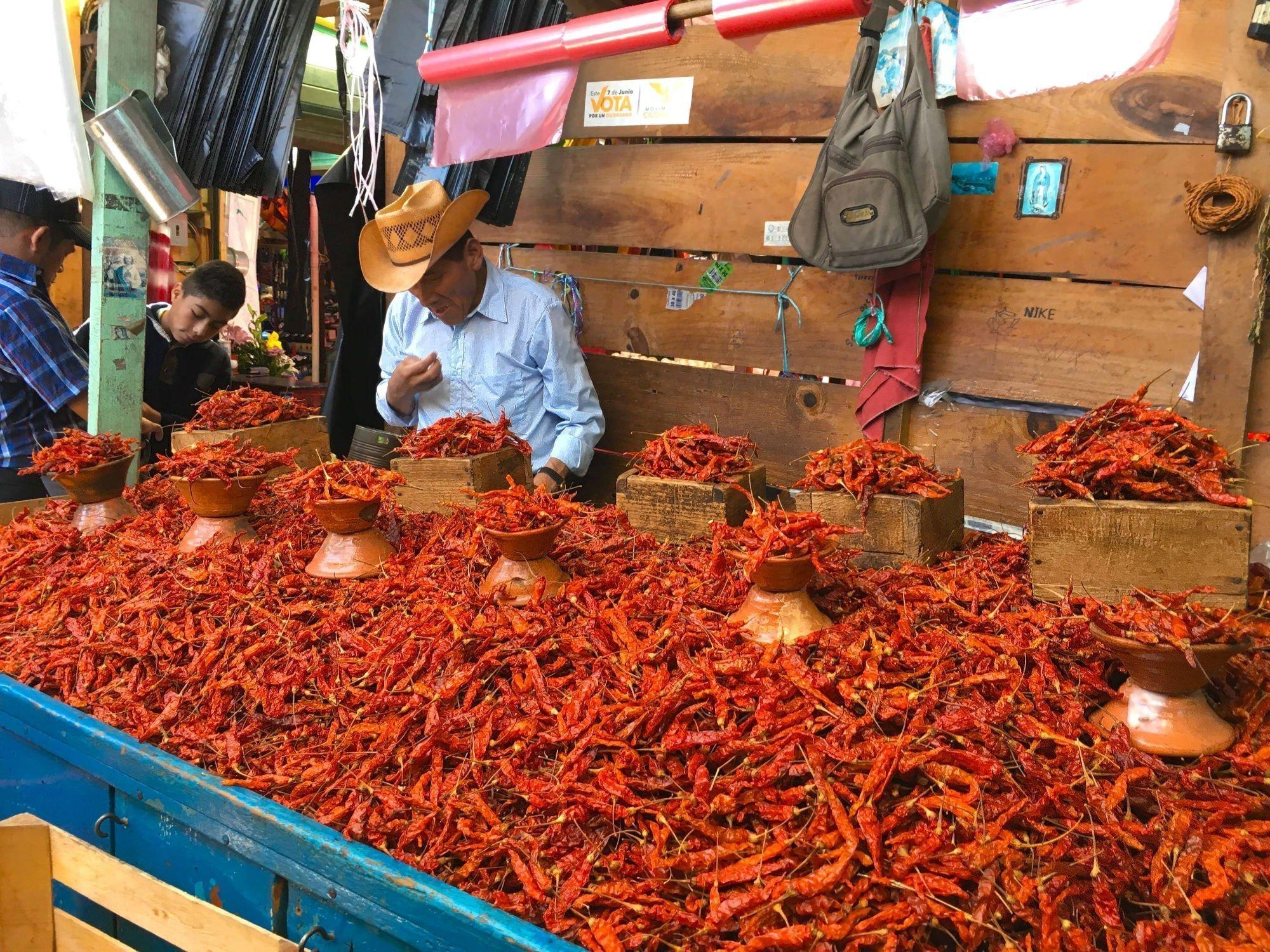 mercado  VAMOS À MEXICO, ZONA SUD