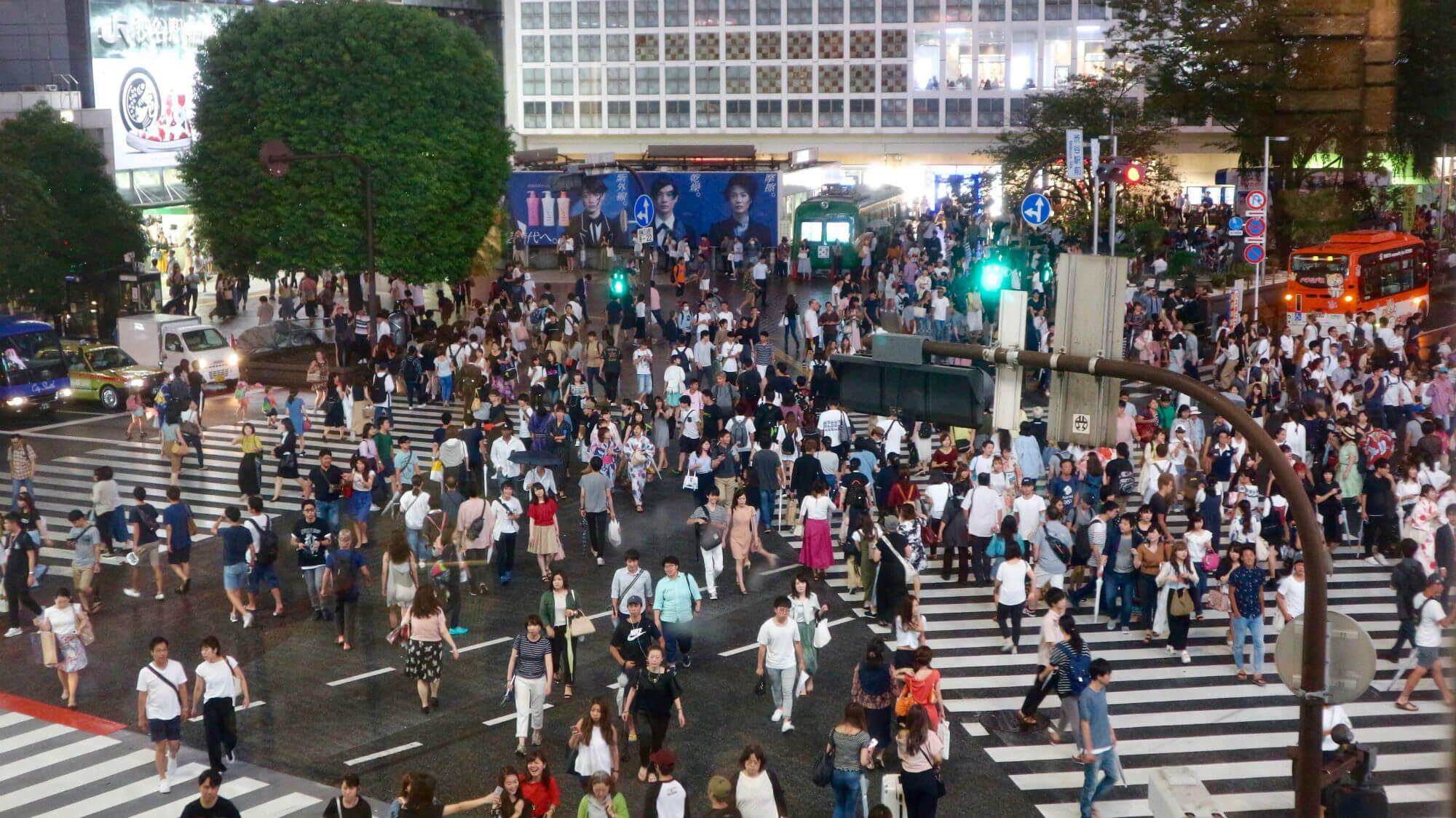 shibuya streets VIAGGIO A TOKYO