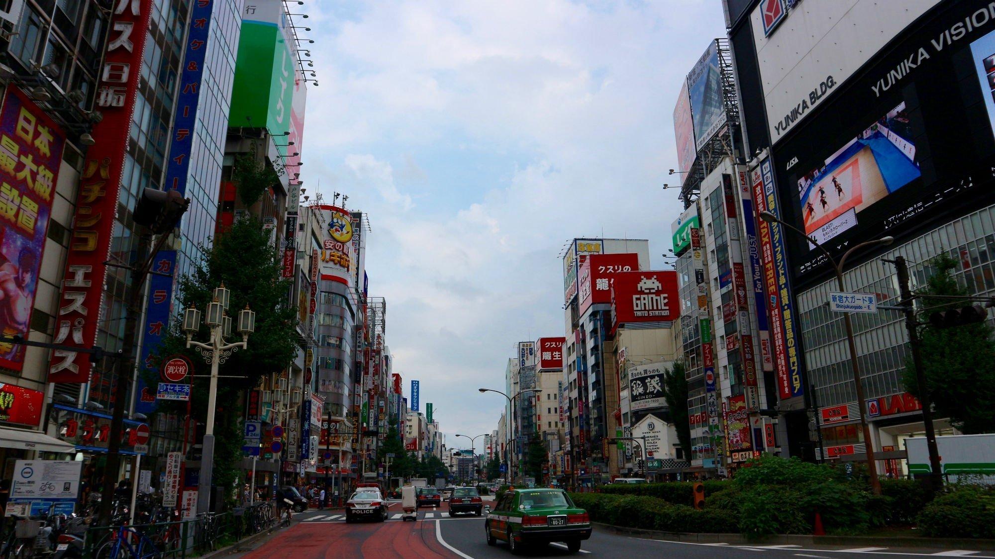 tokyo street VIAGGIO A TOKYO