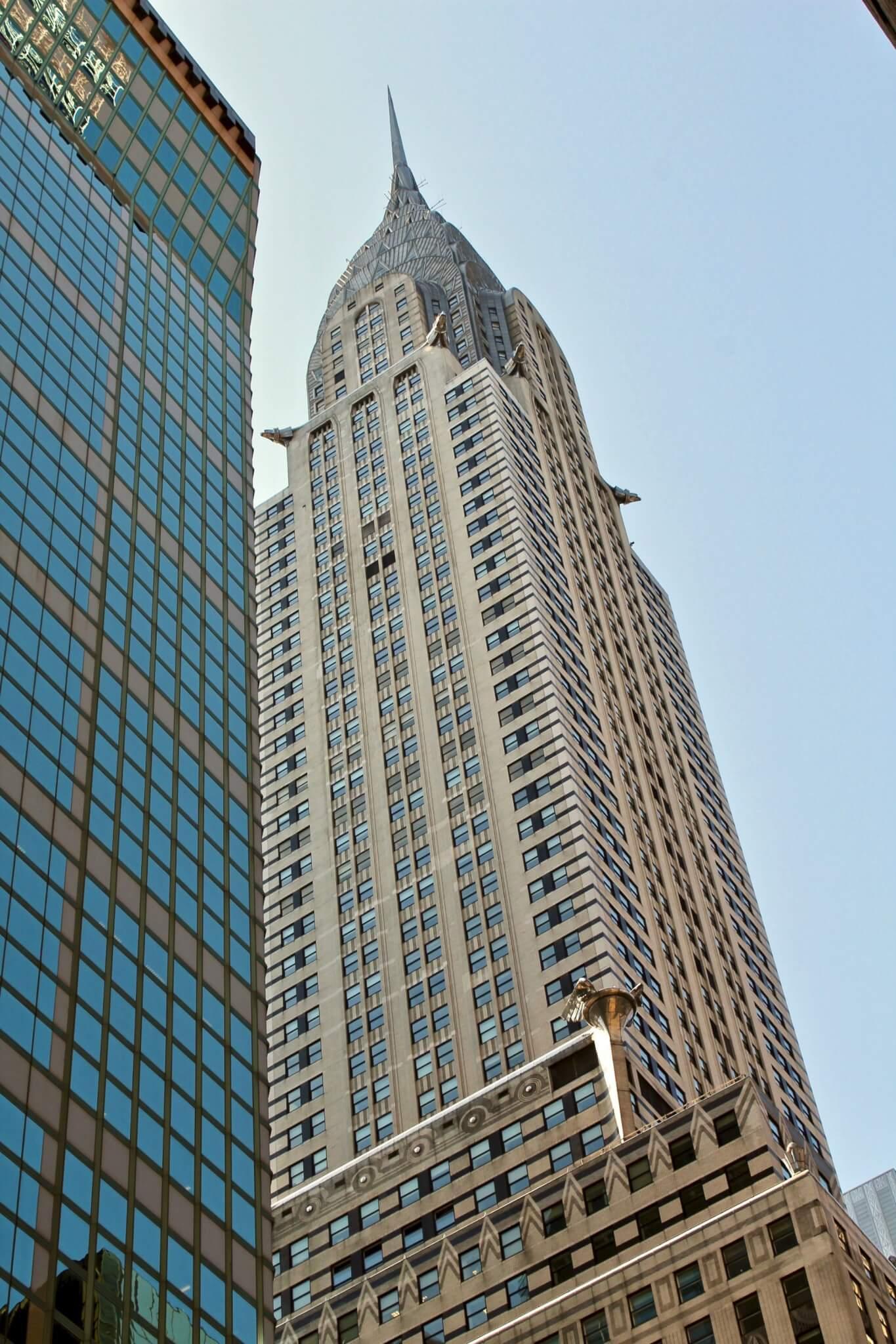 chrysler building compressor LA GUIDA DI NEW YORK PER ZONE