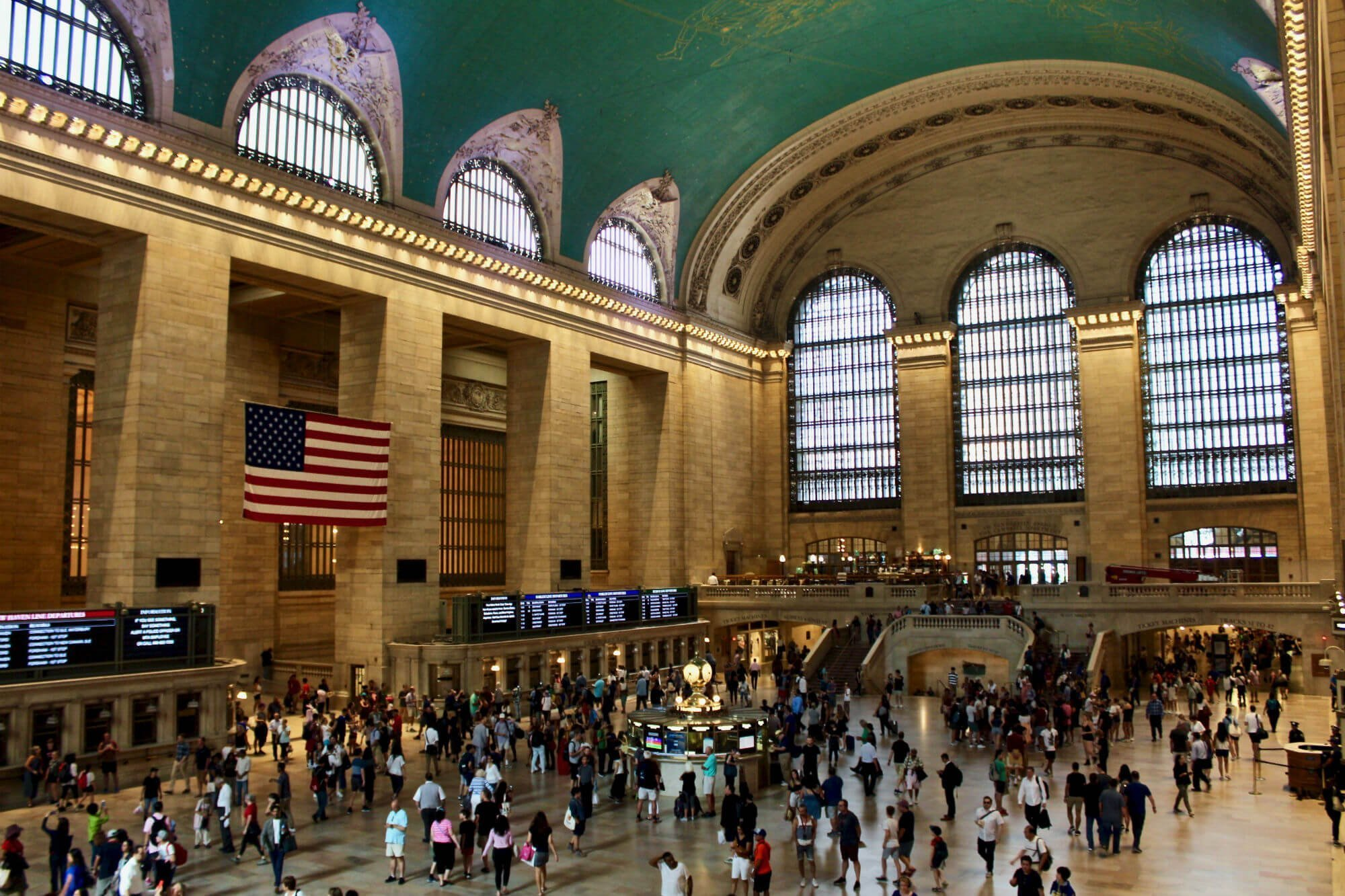 ny central station LA GUIDA DI NEW YORK PER ZONE