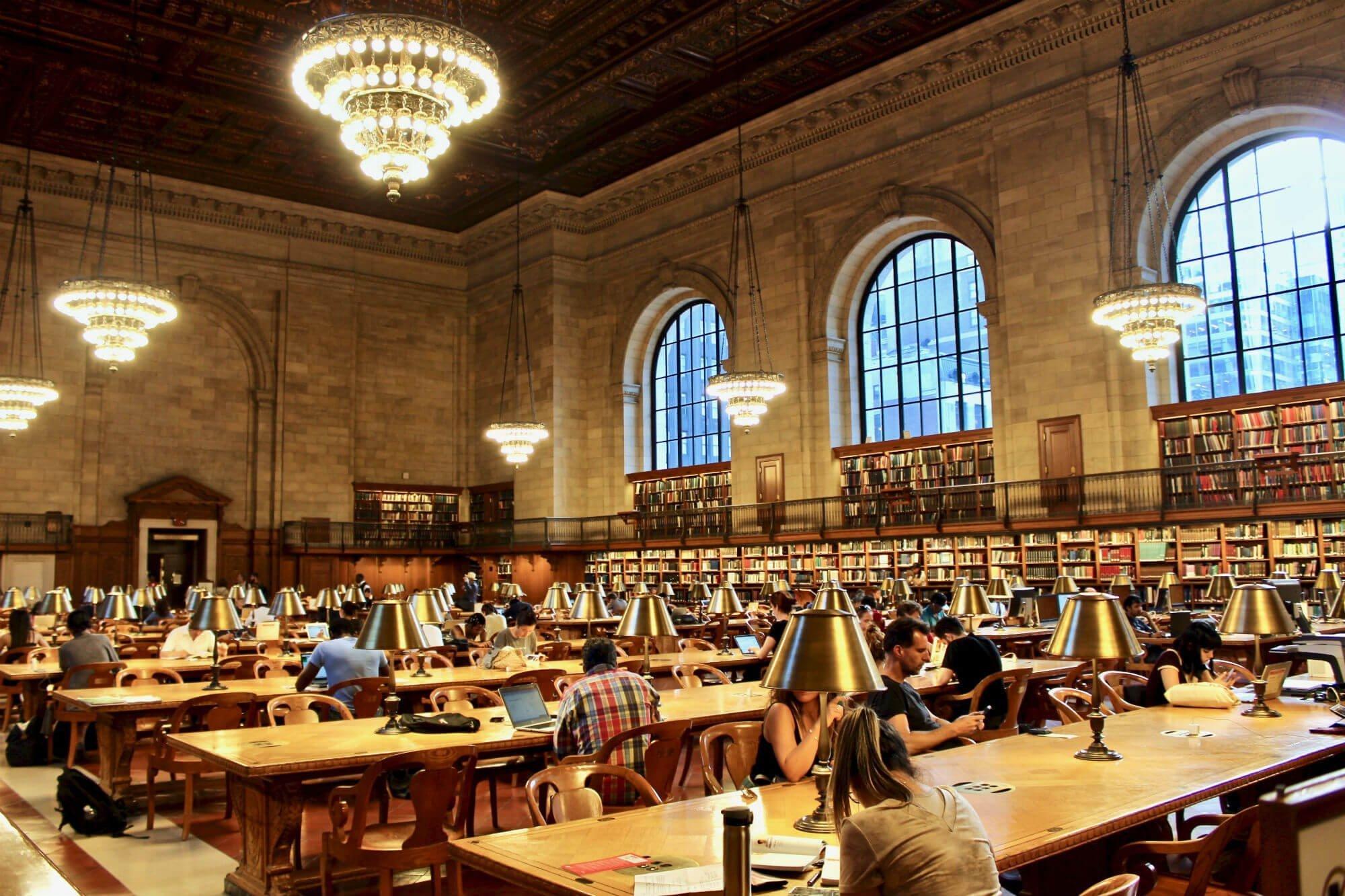 ny public library LA GUIDA DI NEW YORK PER ZONE