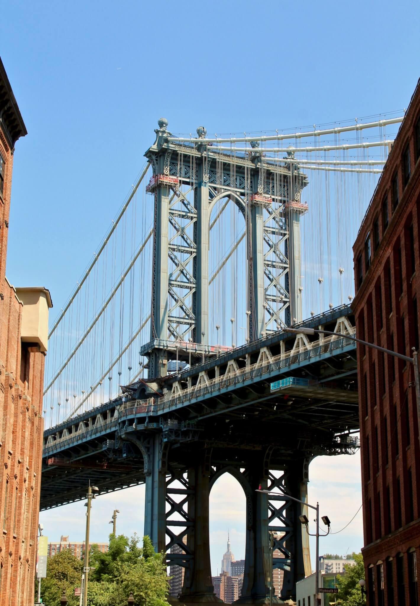 BROOKLYN BRIDGE compressor LA GUIDA DI NEW YORK PER ZONE