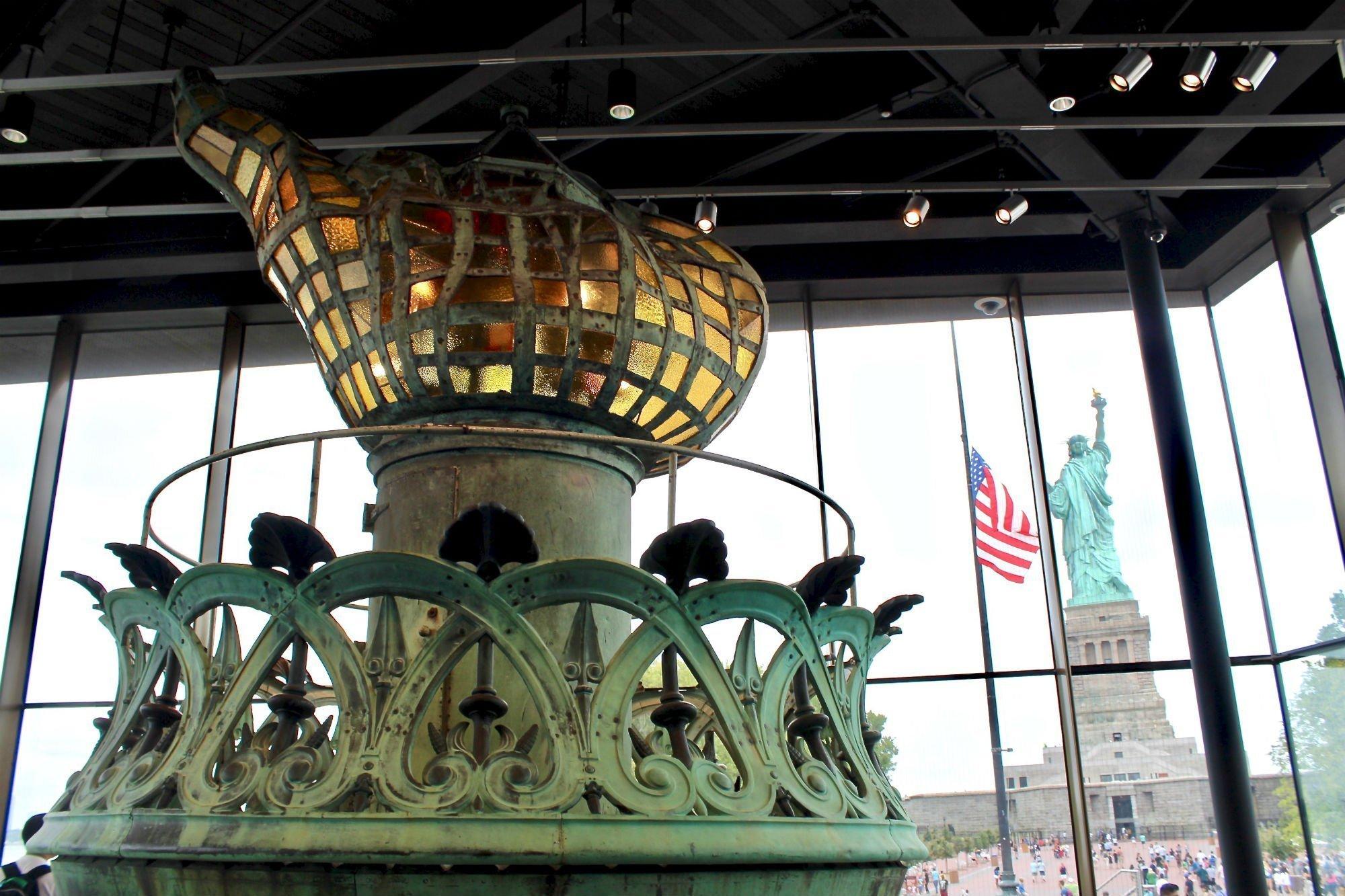 Liberty Island museum LA GUIDA DI NEW YORK PER ZONE