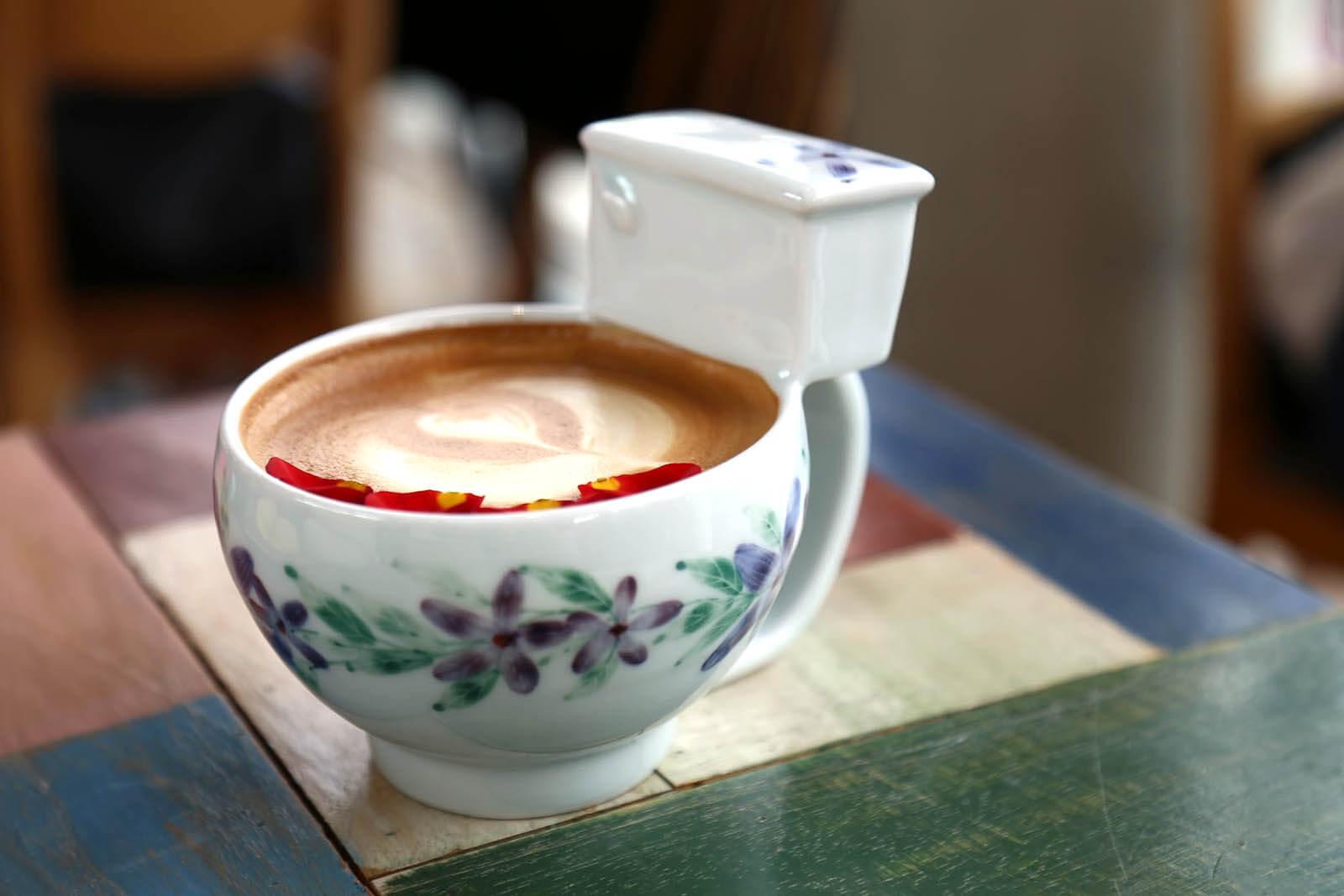 Poop Cafè SEUL CAFFETTERIE PARTICOLARI