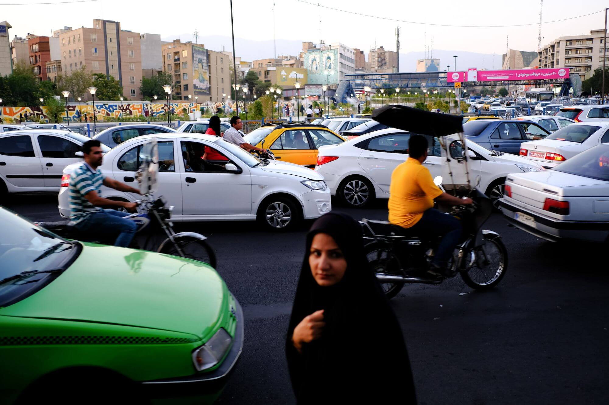 Teheran centro Piazza Aft e tir compressor 3 giorni a Teheran