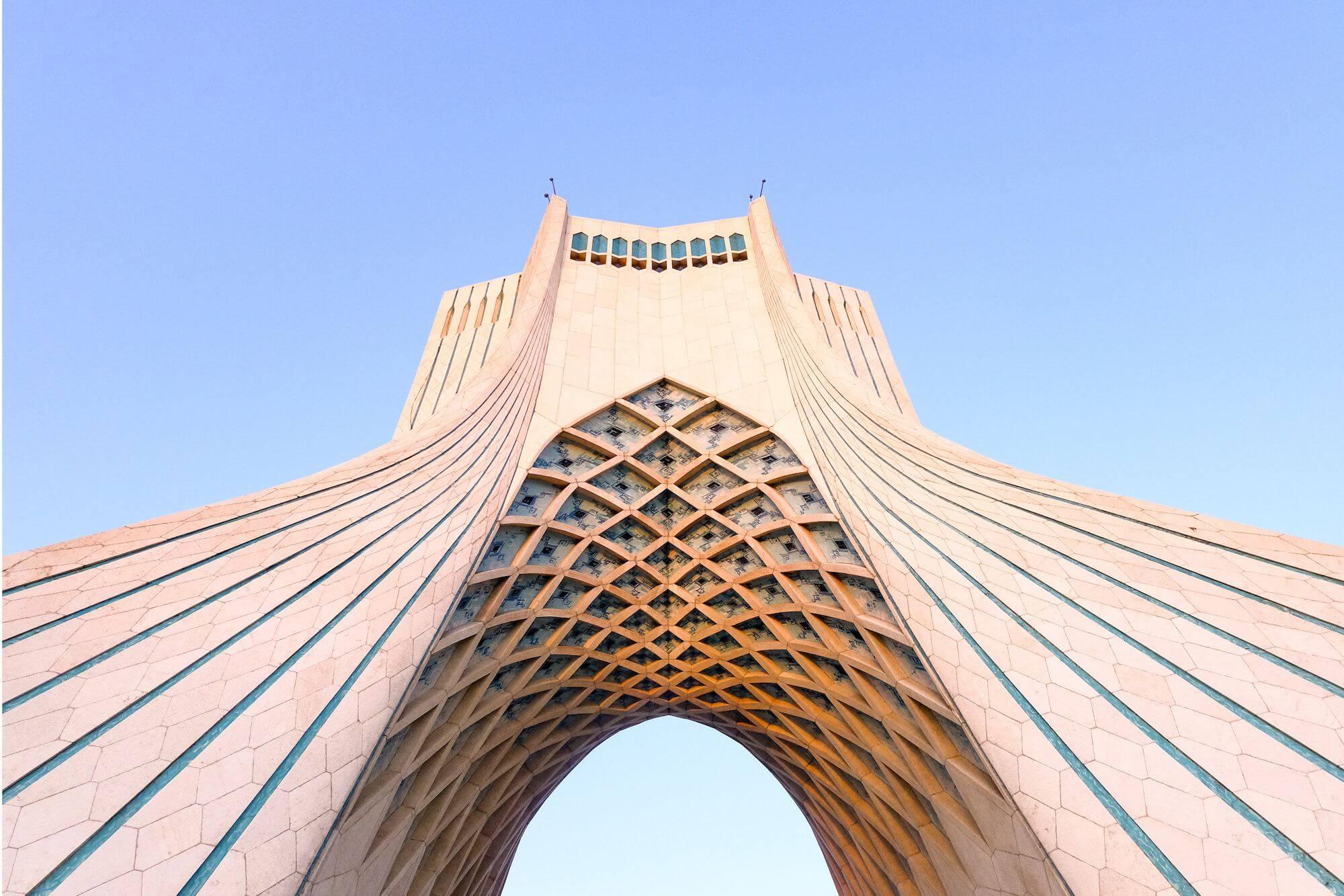 Teheran Azadi Tower 1 compressor 3 giorni a Teheran