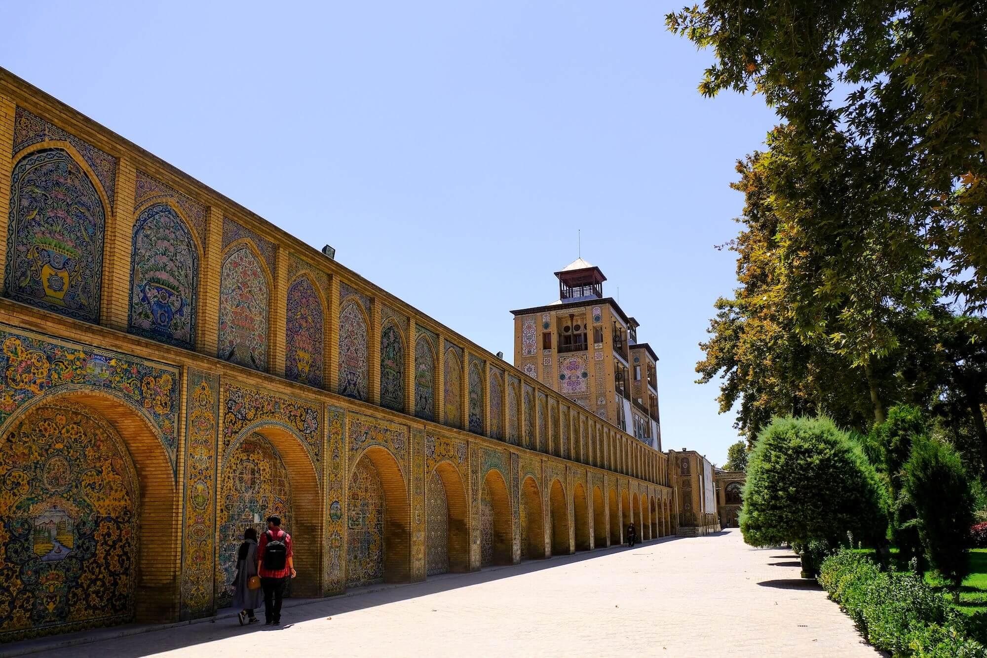 Teheran Golestan Palace 1 compressor 3 giorni a Teheran