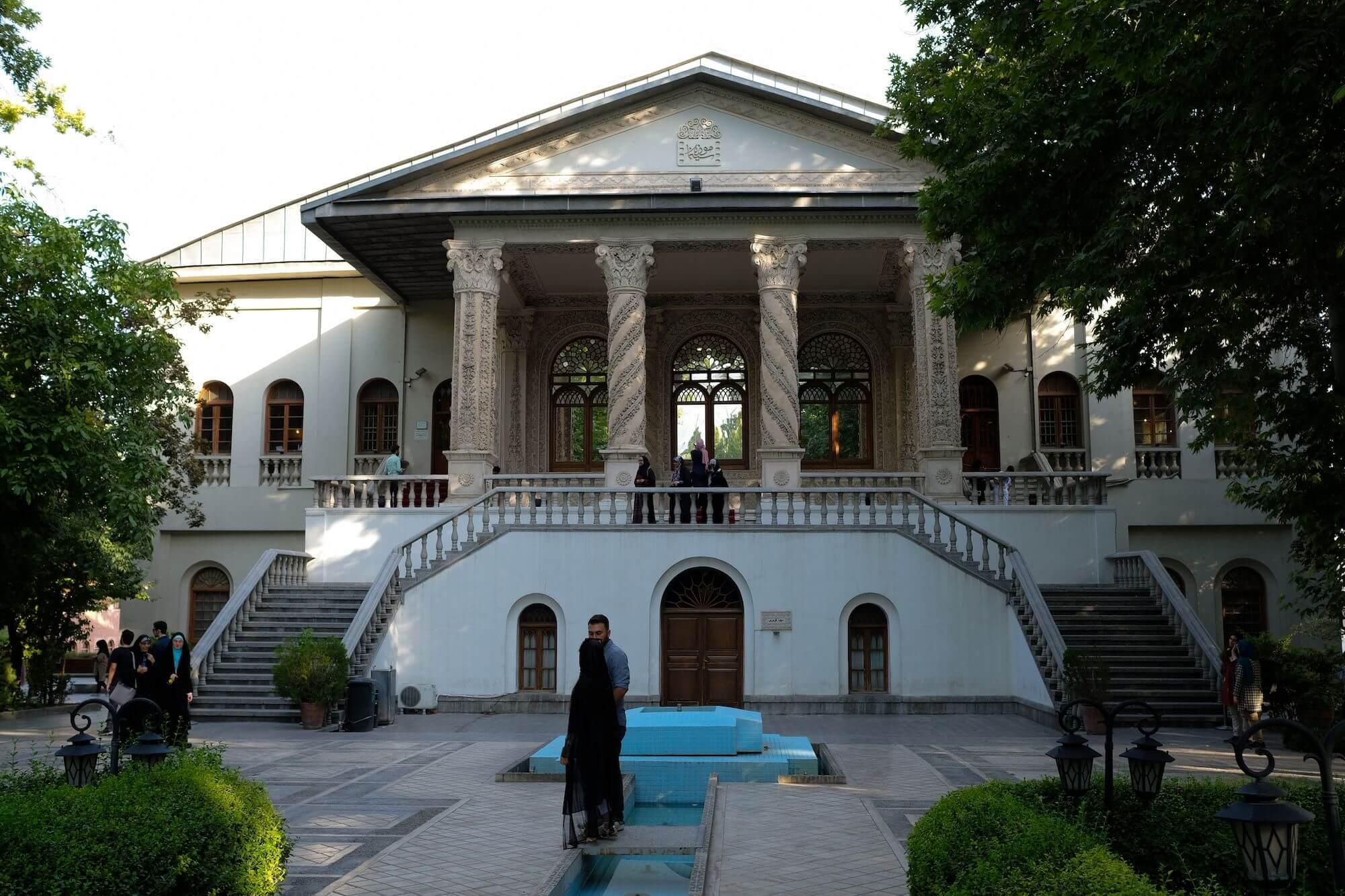 Teheran Museo del Cinema 1 compressor 3 giorni a Teheran