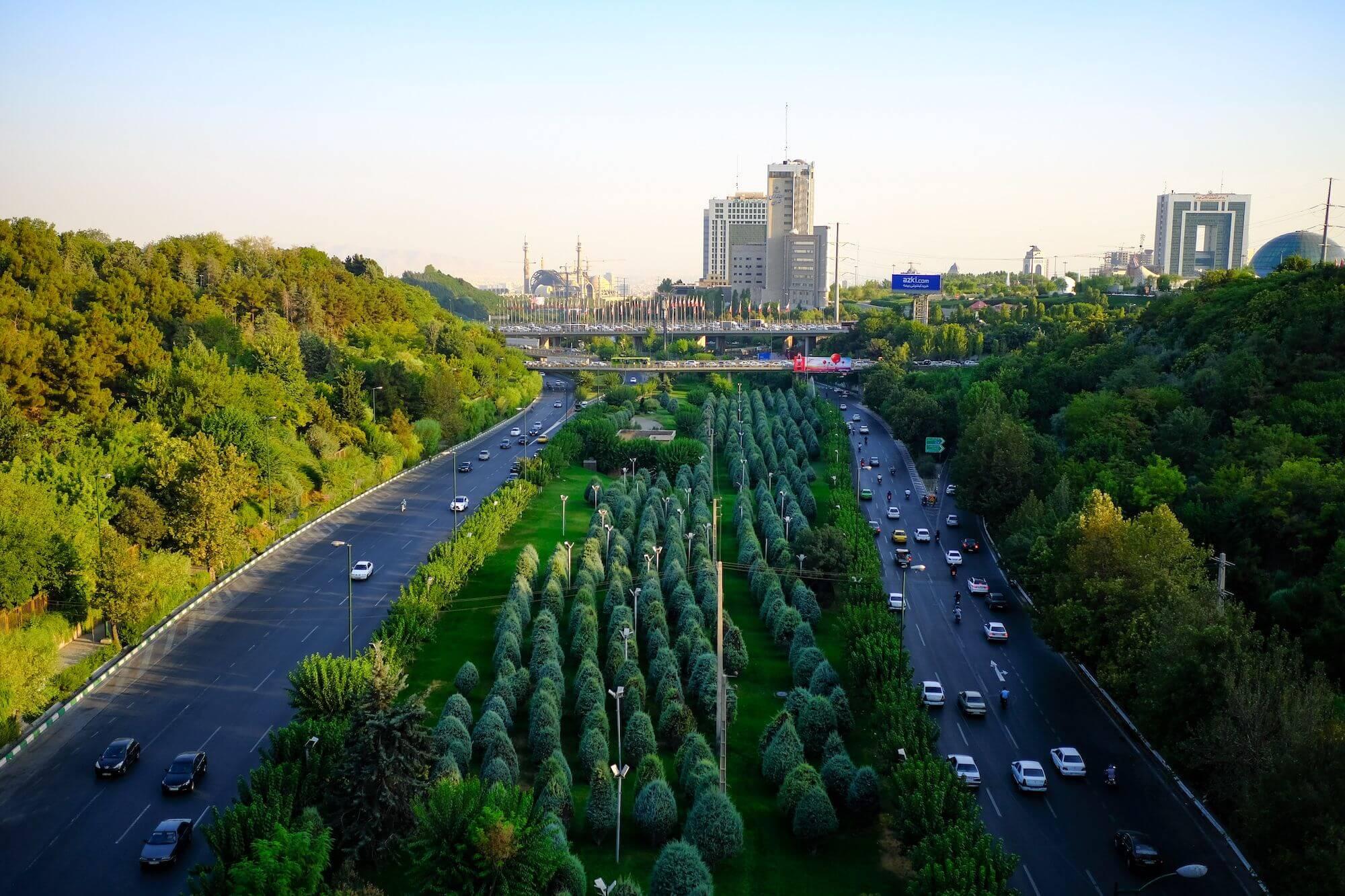 Teheran Tabiat Bridge 1 compressor 3 giorni a Teheran
