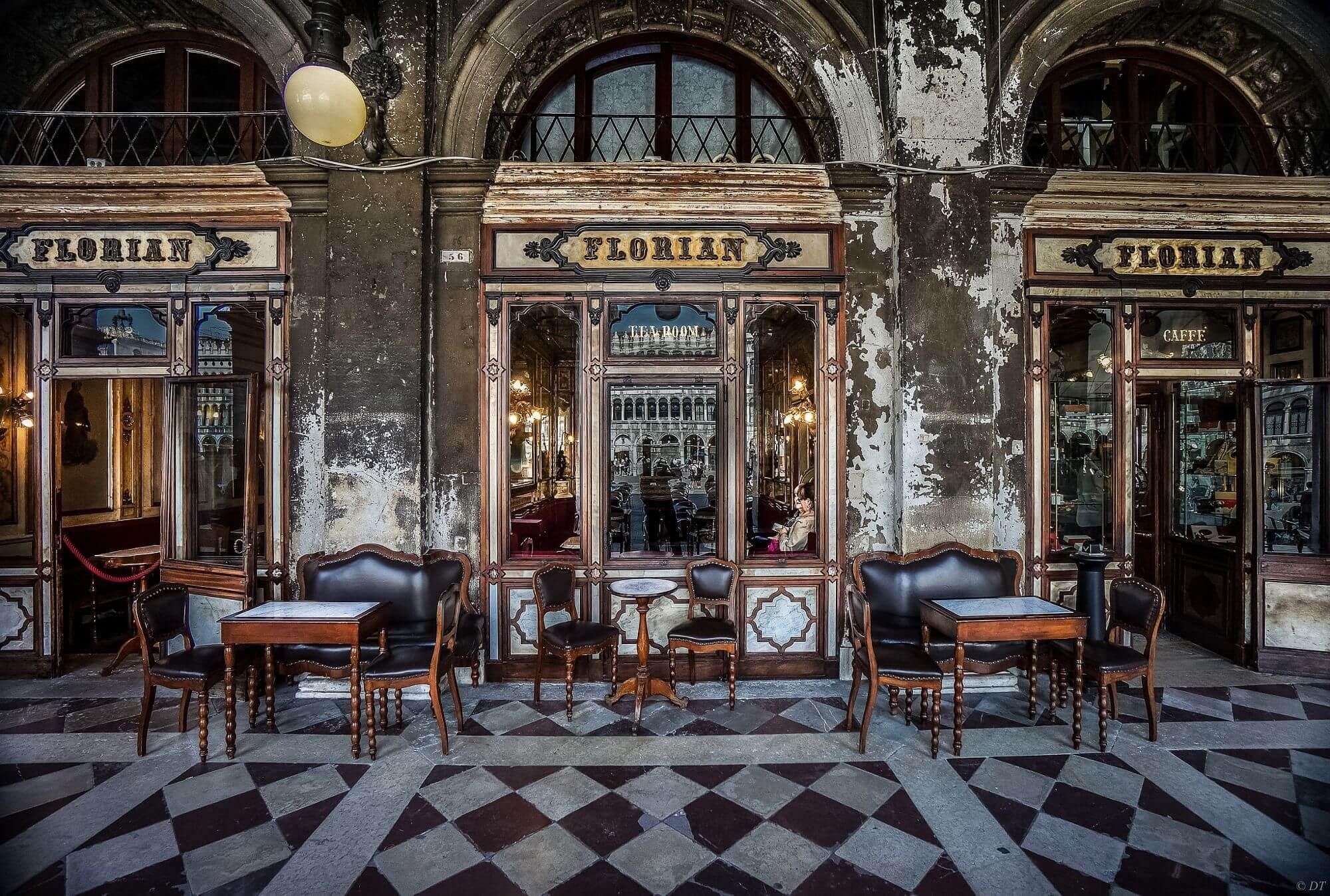 cafe florian venezia CAFFETTERIE PARTICOLARI