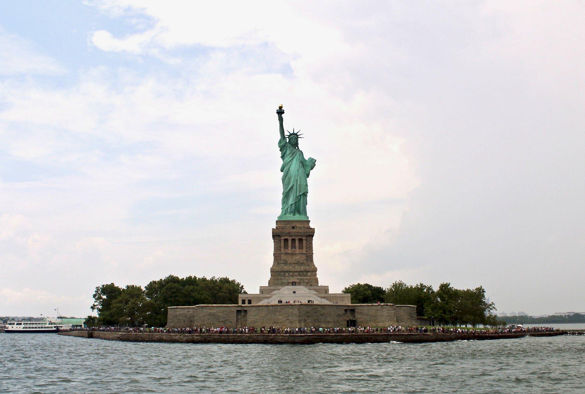liberty island 1 LA GUIDA DI NEW YORK PER ZONE