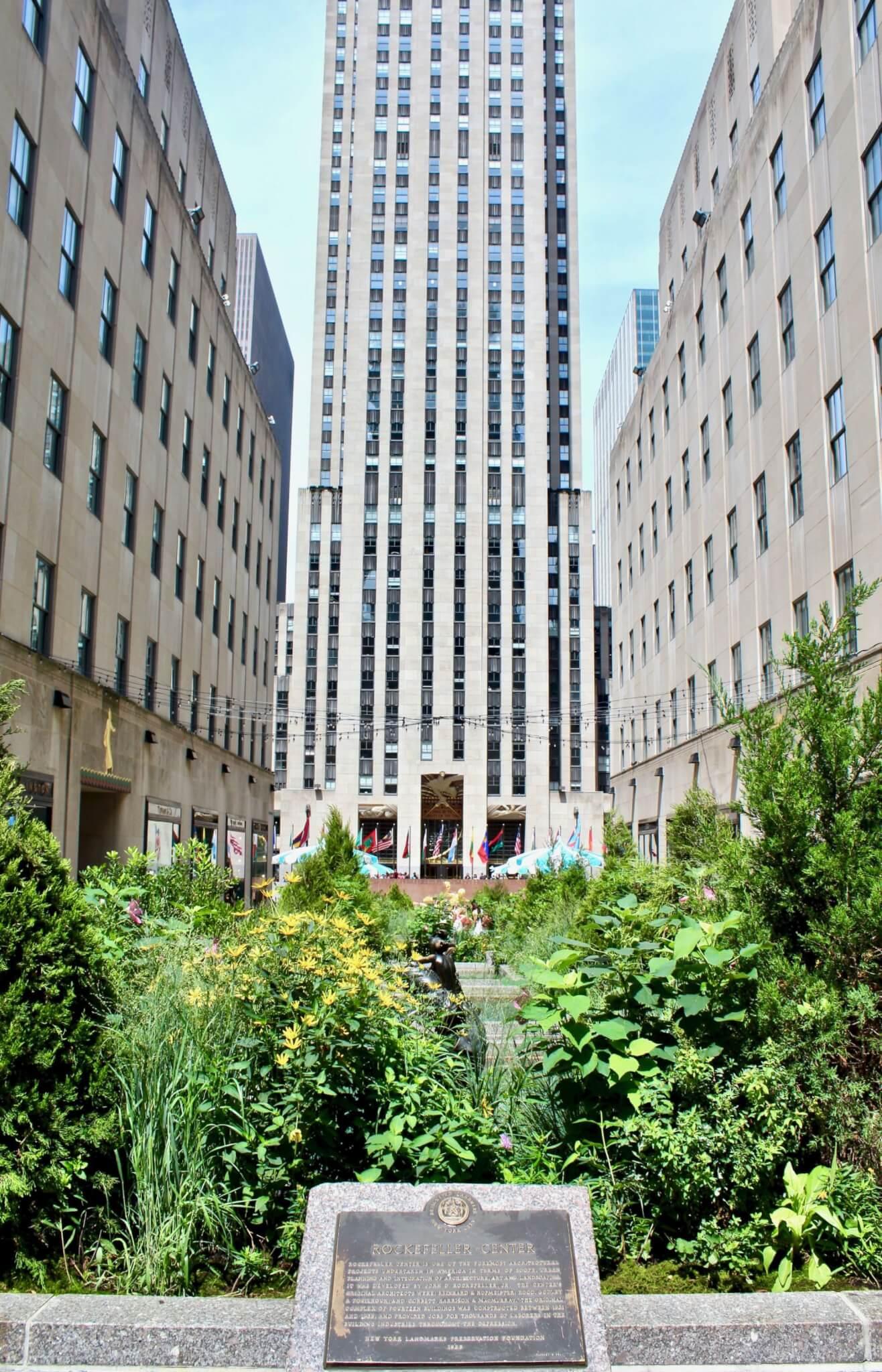 rockfeller center compressor LA GUIDA DI NEW YORK PER ZONE