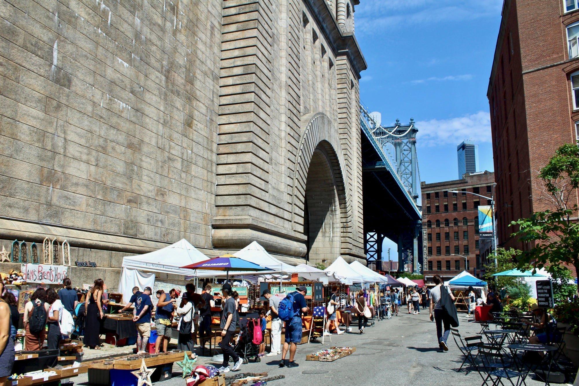 sunday market LA GUIDA DI NEW YORK PER ZONE