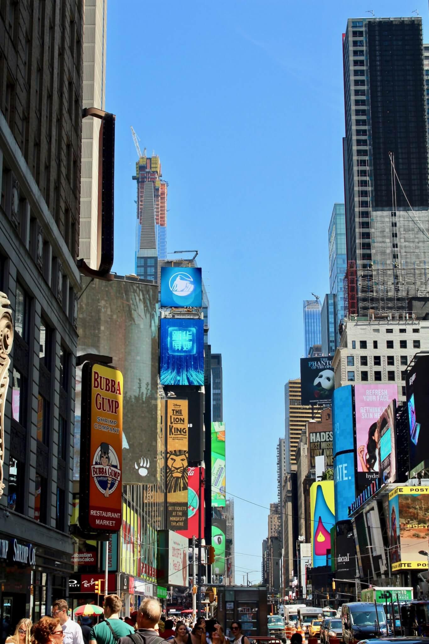 time square compressor LA GUIDA DI NEW YORK PER ZONE
