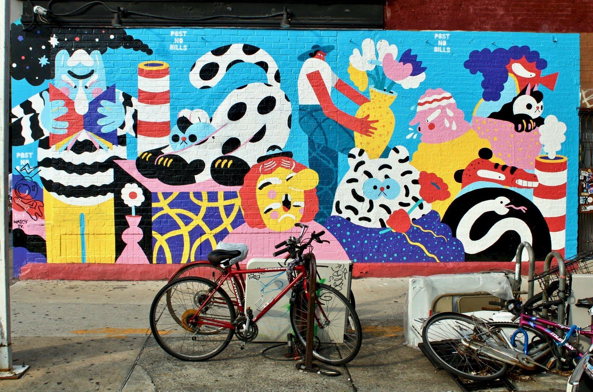 williamsburg street art LA GUIDA DI NEW YORK PER ZONE