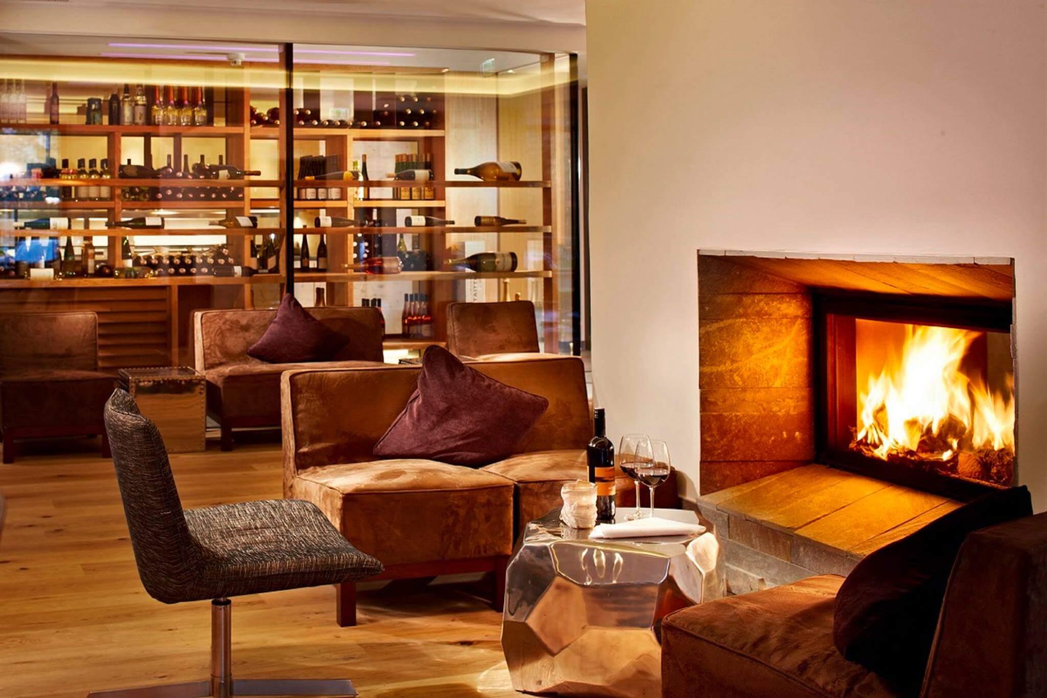 Boutique Hotel Huber lounge DESIGN HOTEL SULLE ALPI