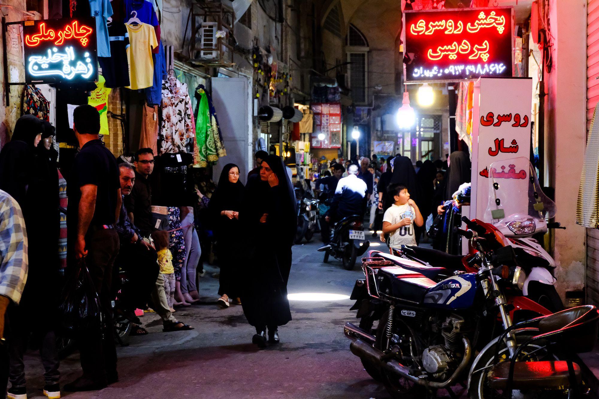 Isfahan Bazar e Borzog 2 compressor IRAN ON THE ROAD