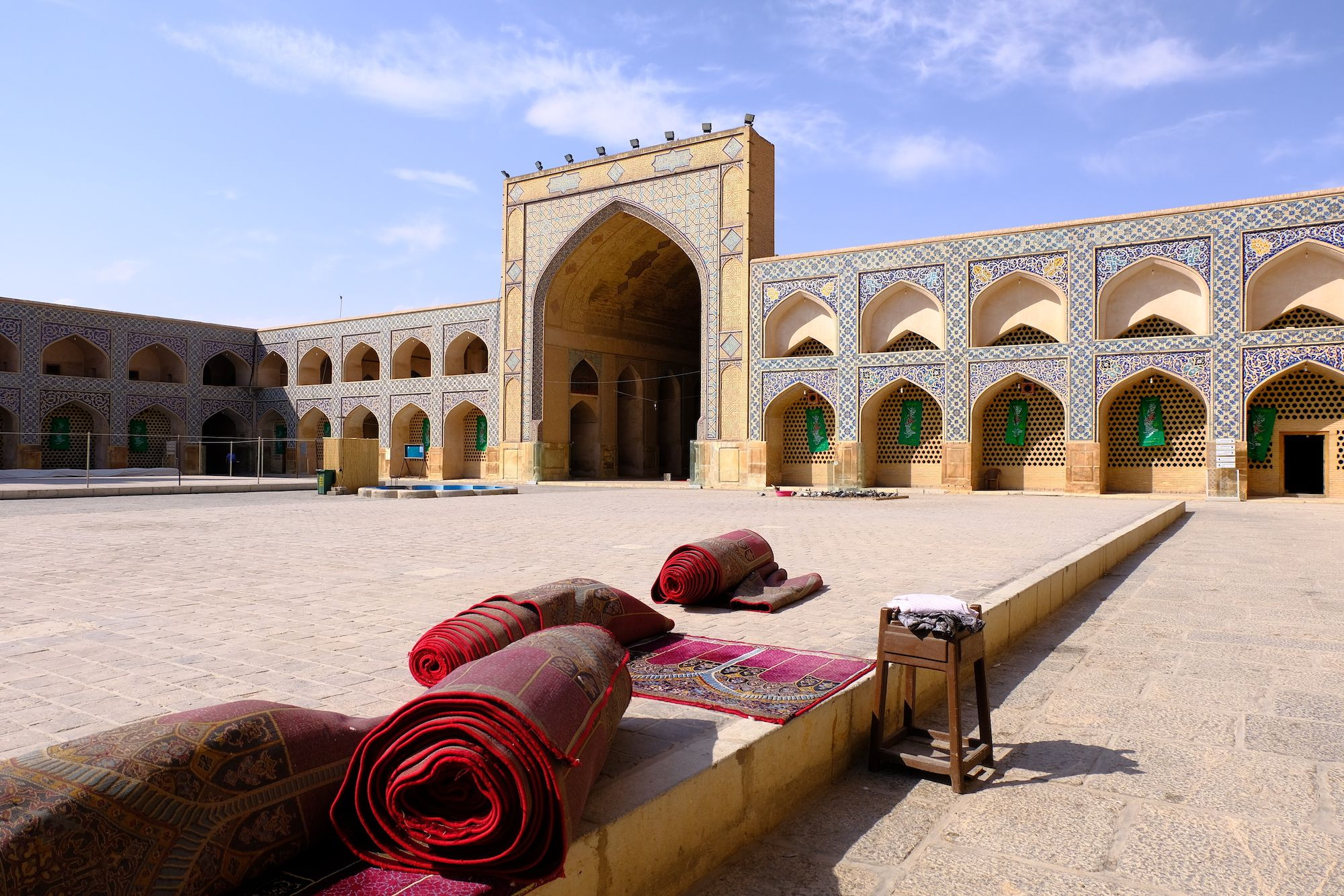 Isfahan Moschea di Jameh 1 compressor IRAN ON THE ROAD