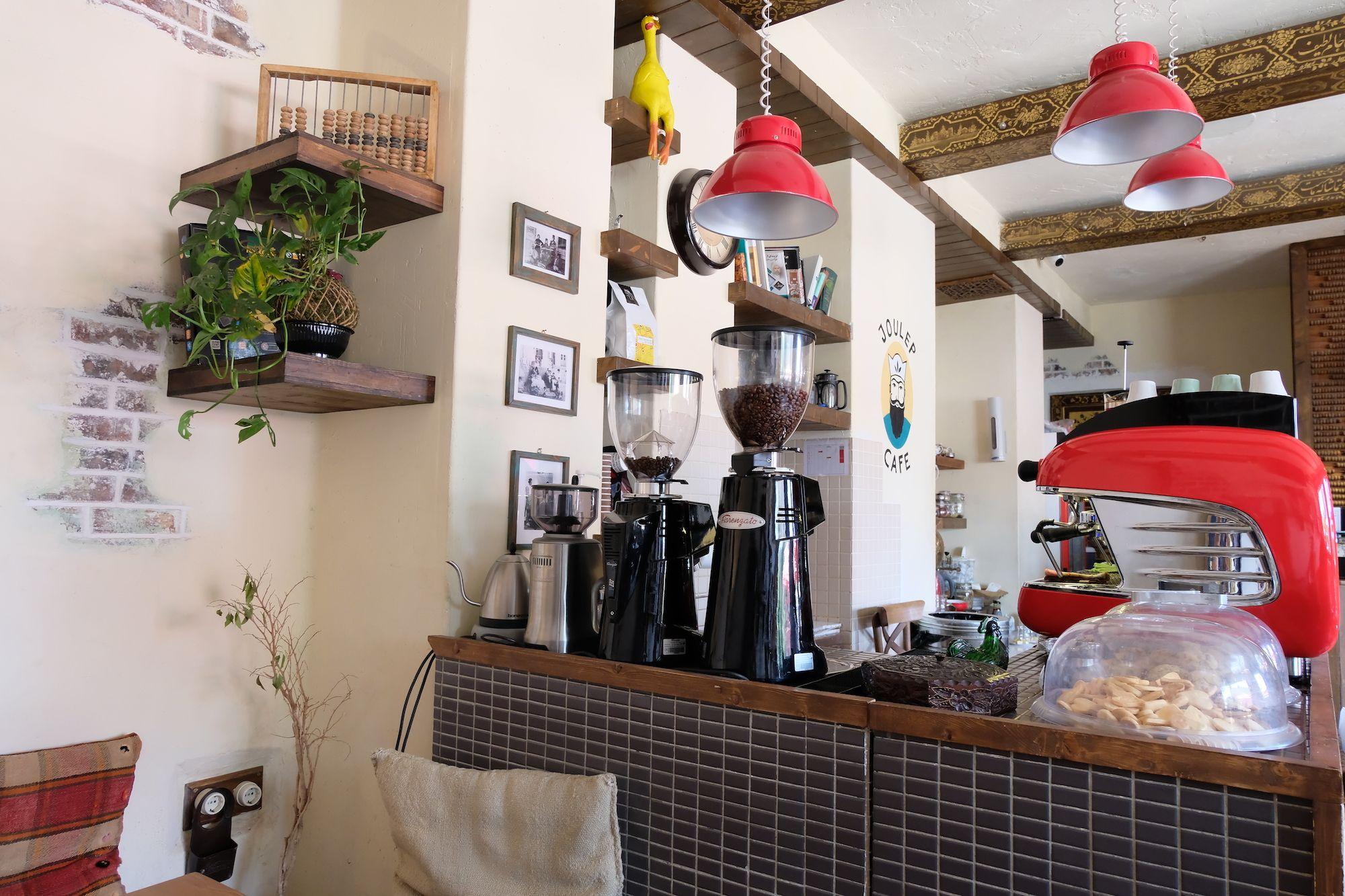 Shiraz Joulep Café compressor IRAN ON THE ROAD