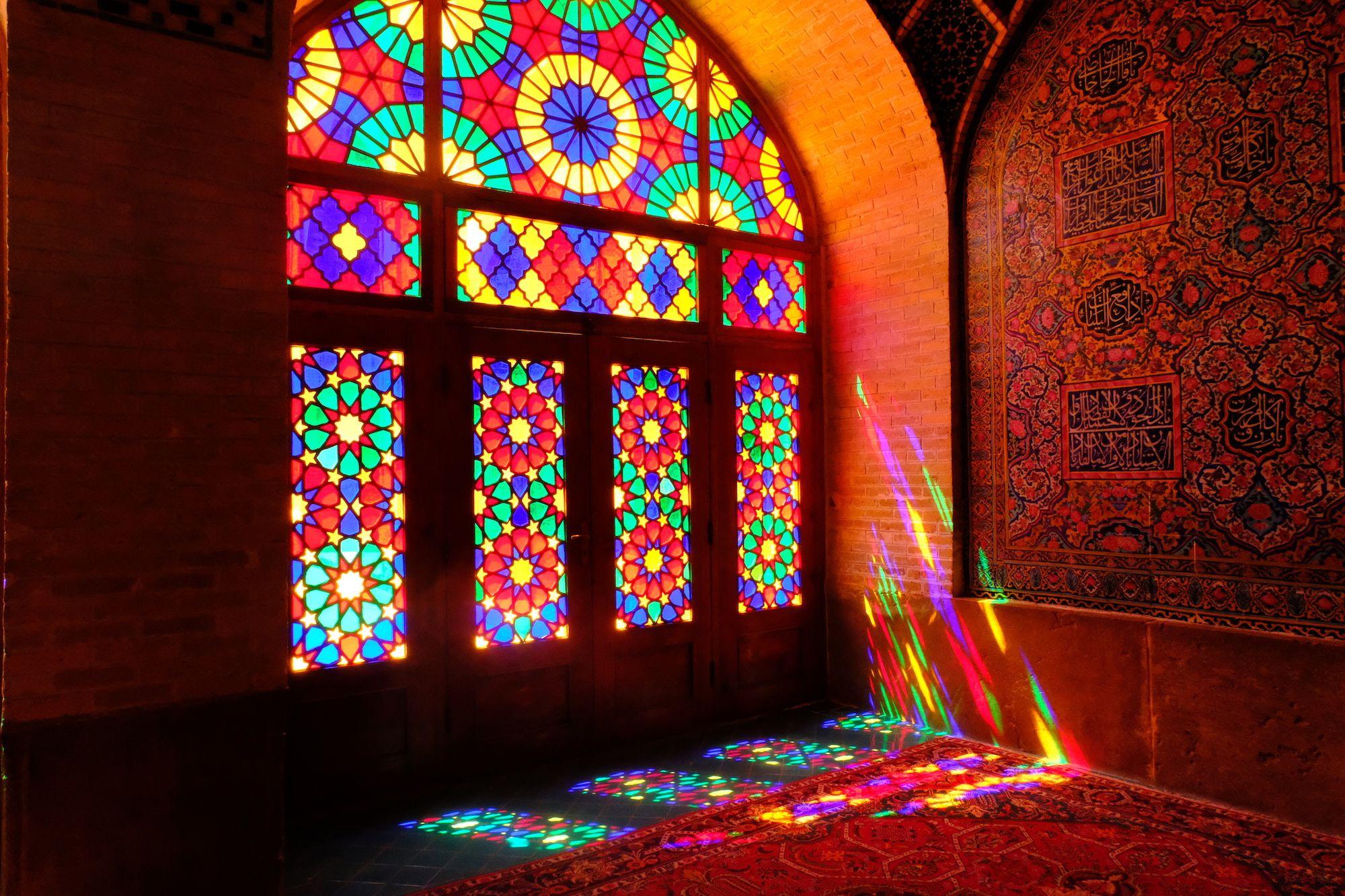 Shiraz Moschea Rosa 3 compressor IRAN ON THE ROAD