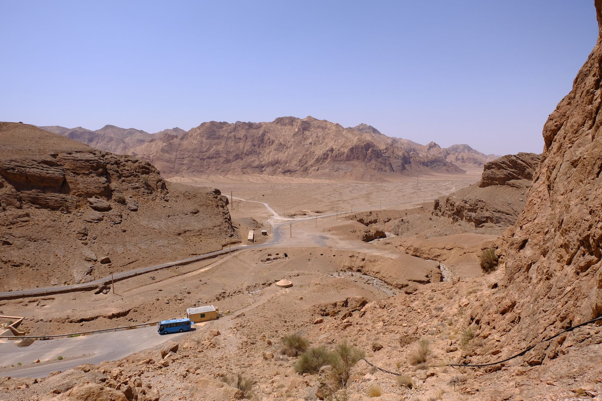 Yazd Chak Chak 3 compressor IRAN ON THE ROAD