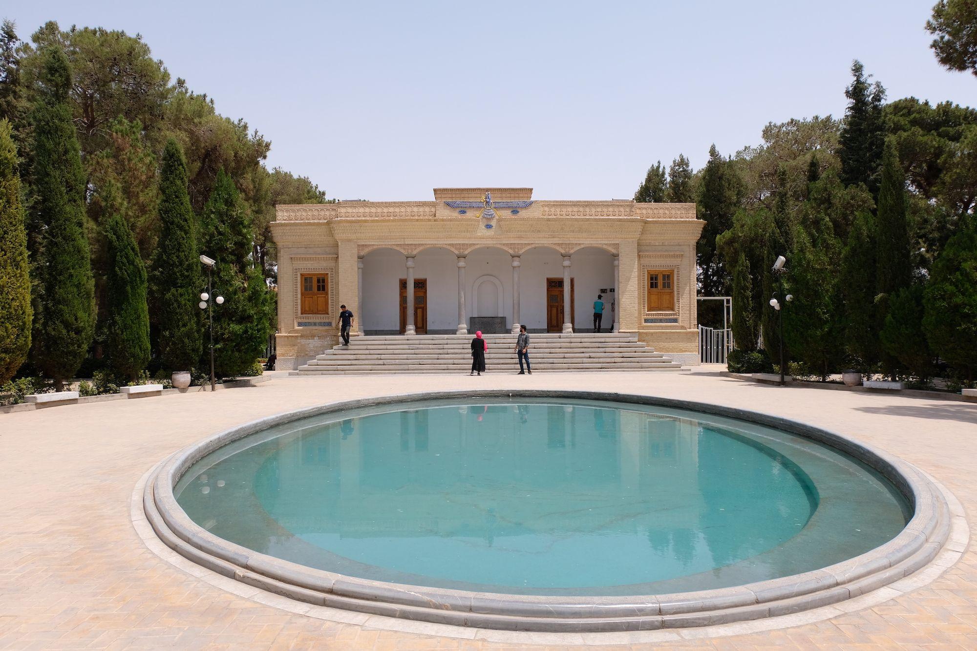 Yazd Tempio del Fuoco Zoroastriano compressor IRAN ON THE ROAD