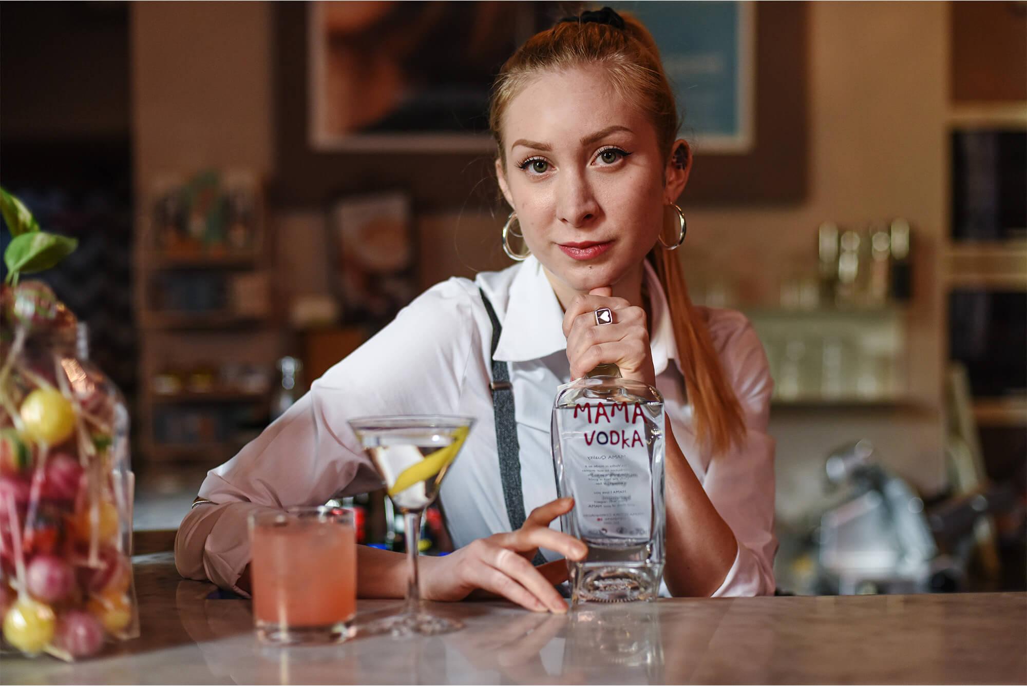 mamavodka bartender Il Cinemino
