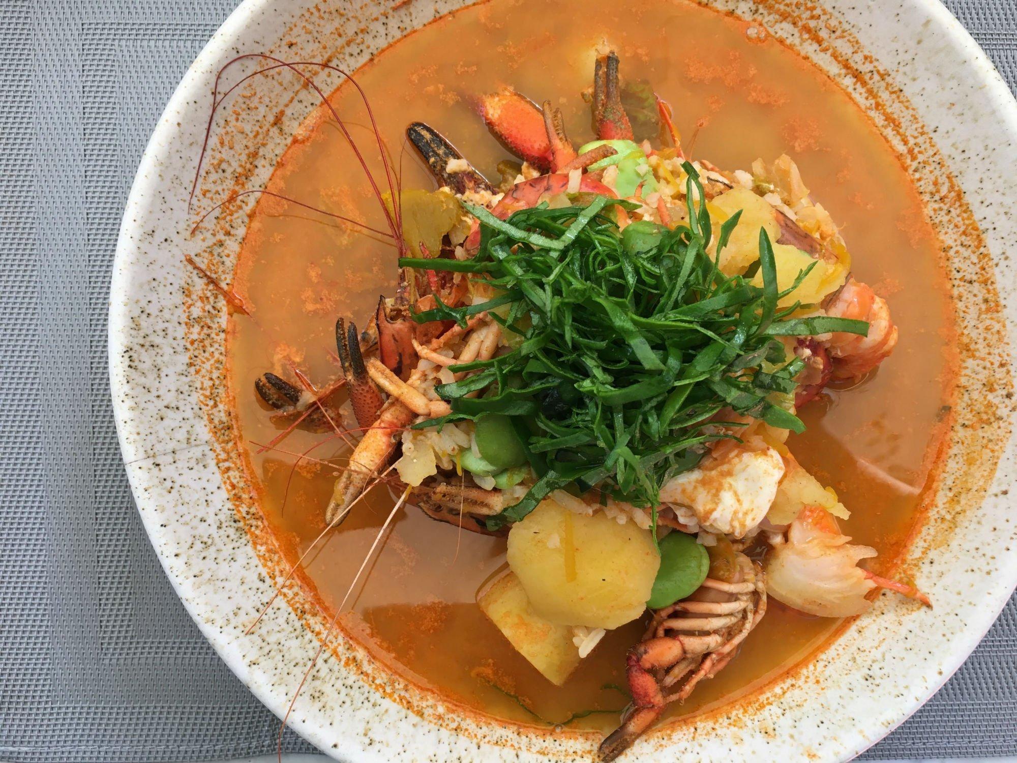 zuppa di pesce PERÙ