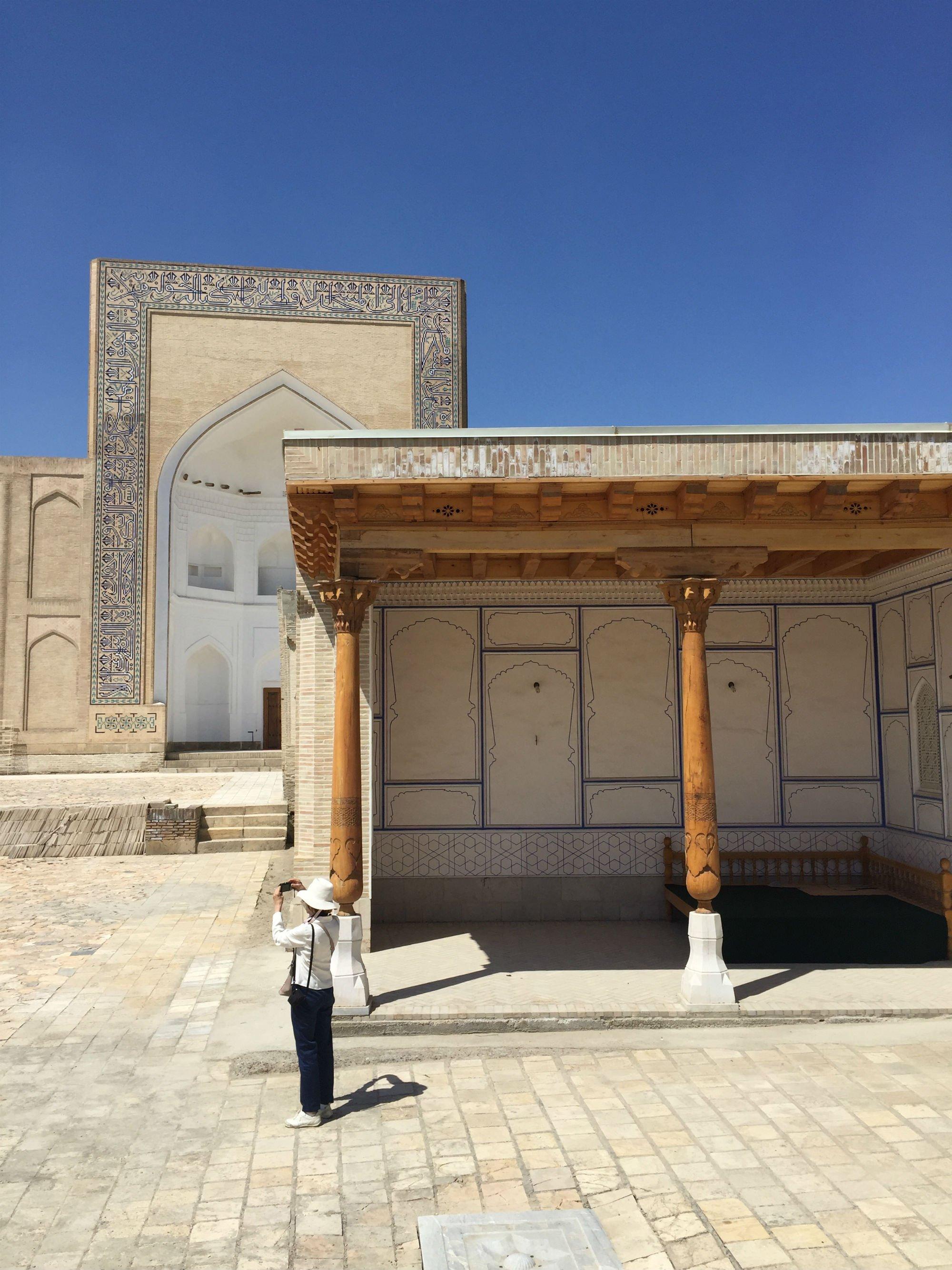 UZBEKISTAN Bukhara Chor Bakr VIAGGIO IN UZBEKISTAN