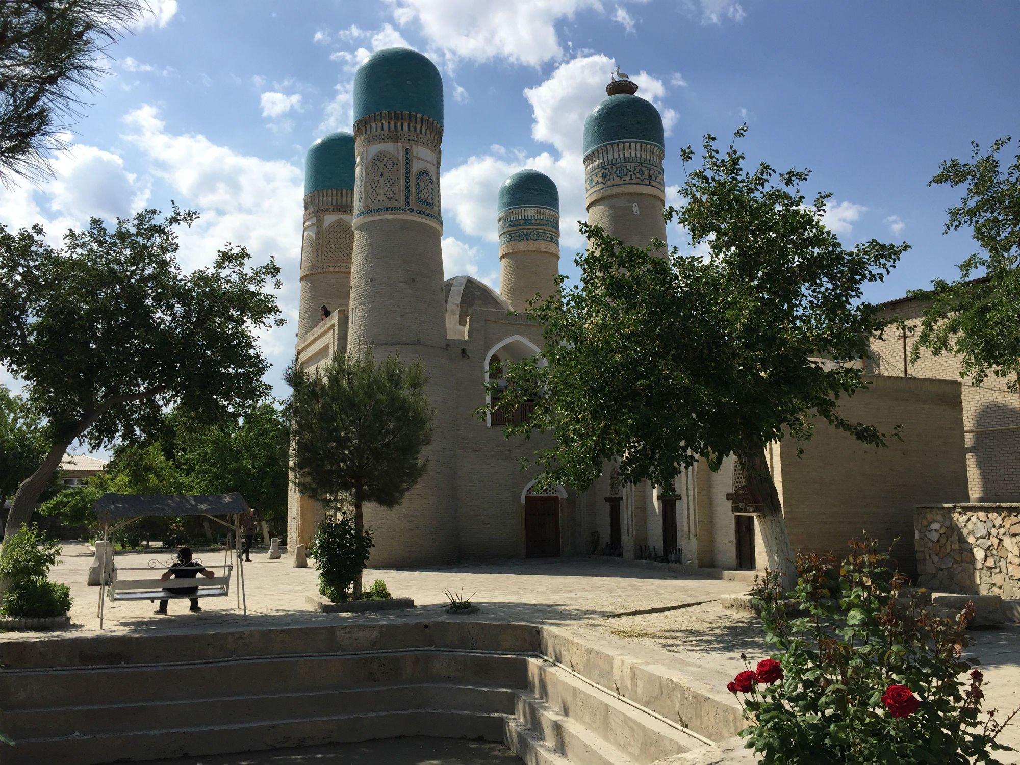 UZBEKISTAN Bukhara Chor Minor VIAGGIO IN UZBEKISTAN