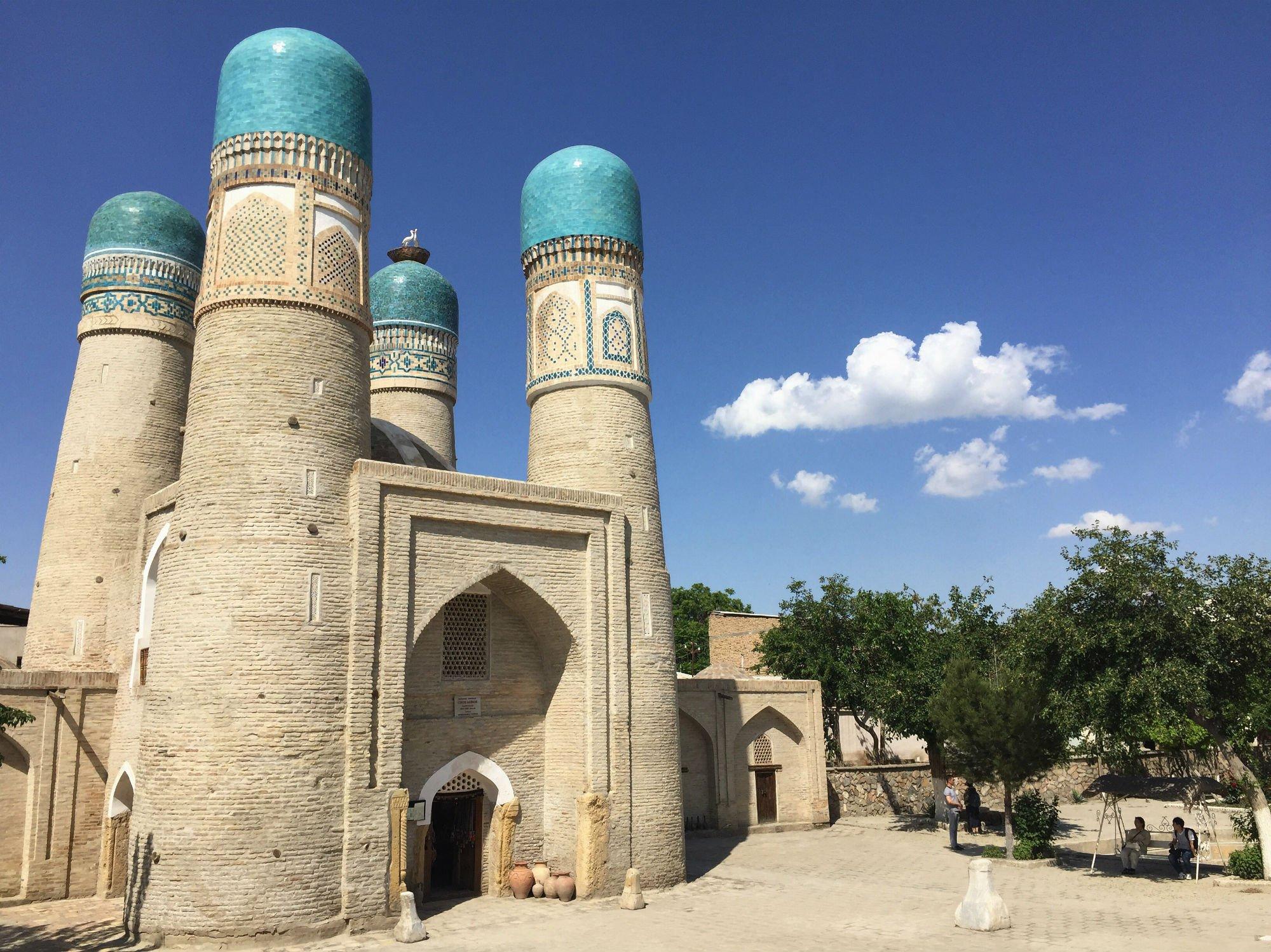 UZBEKISTAN Bukhara Chor Minor1 VIAGGIO IN UZBEKISTAN