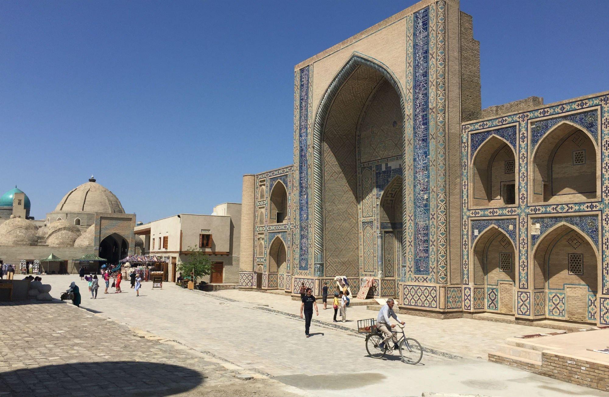UZBEKISTAN Bukhara Ulugbek VIAGGIO IN UZBEKISTAN