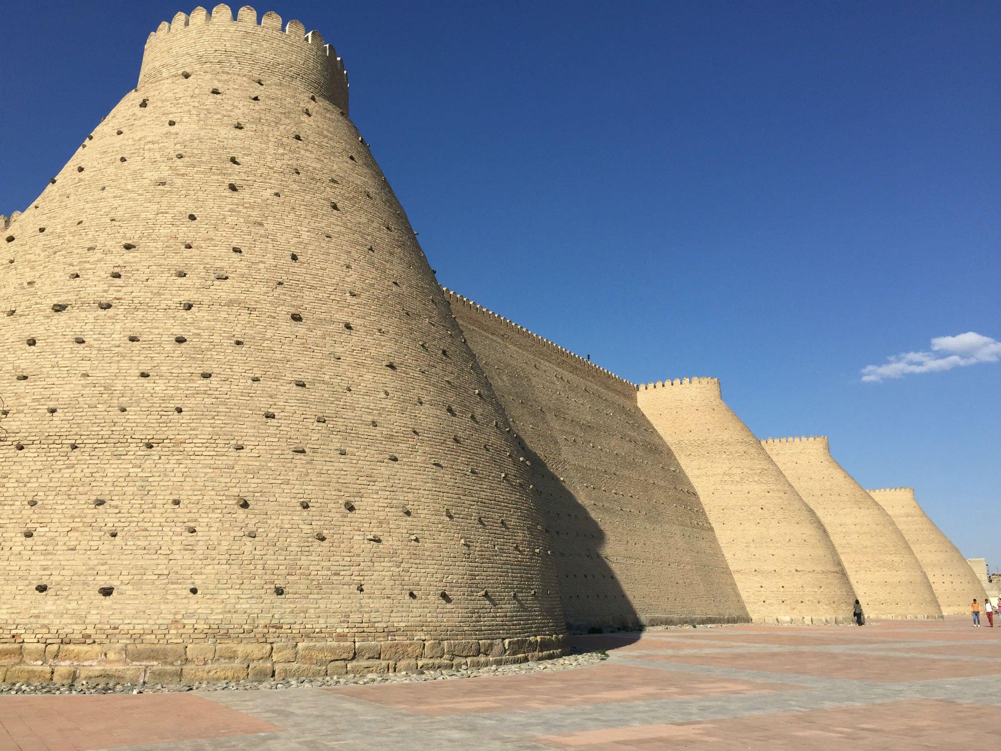 UZBEKISTAN Bukhara ark VIAGGIO IN UZBEKISTAN