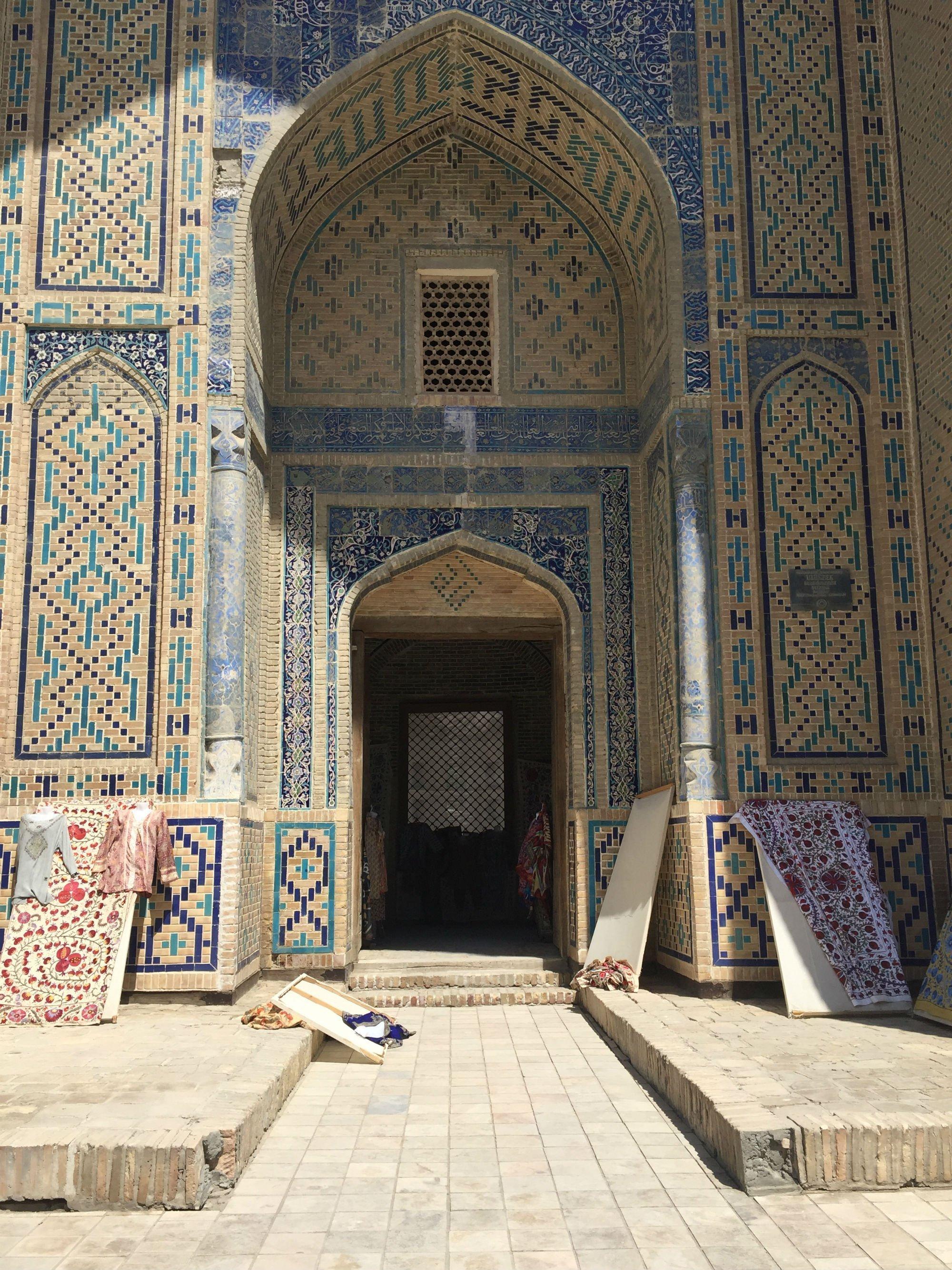 UZBEKISTAN Bukhara madrasa Aziz Khan2 VIAGGIO IN UZBEKISTAN