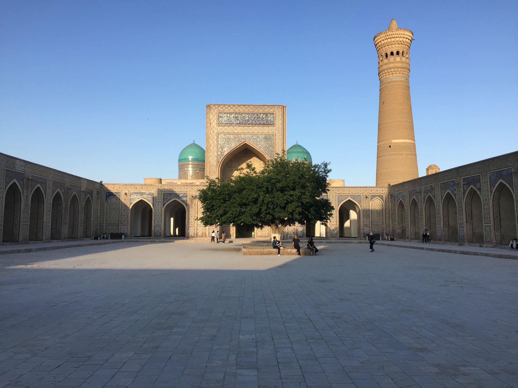 UZBEKISTAN Bukhara moschea Kalon VIAGGIO IN UZBEKISTAN