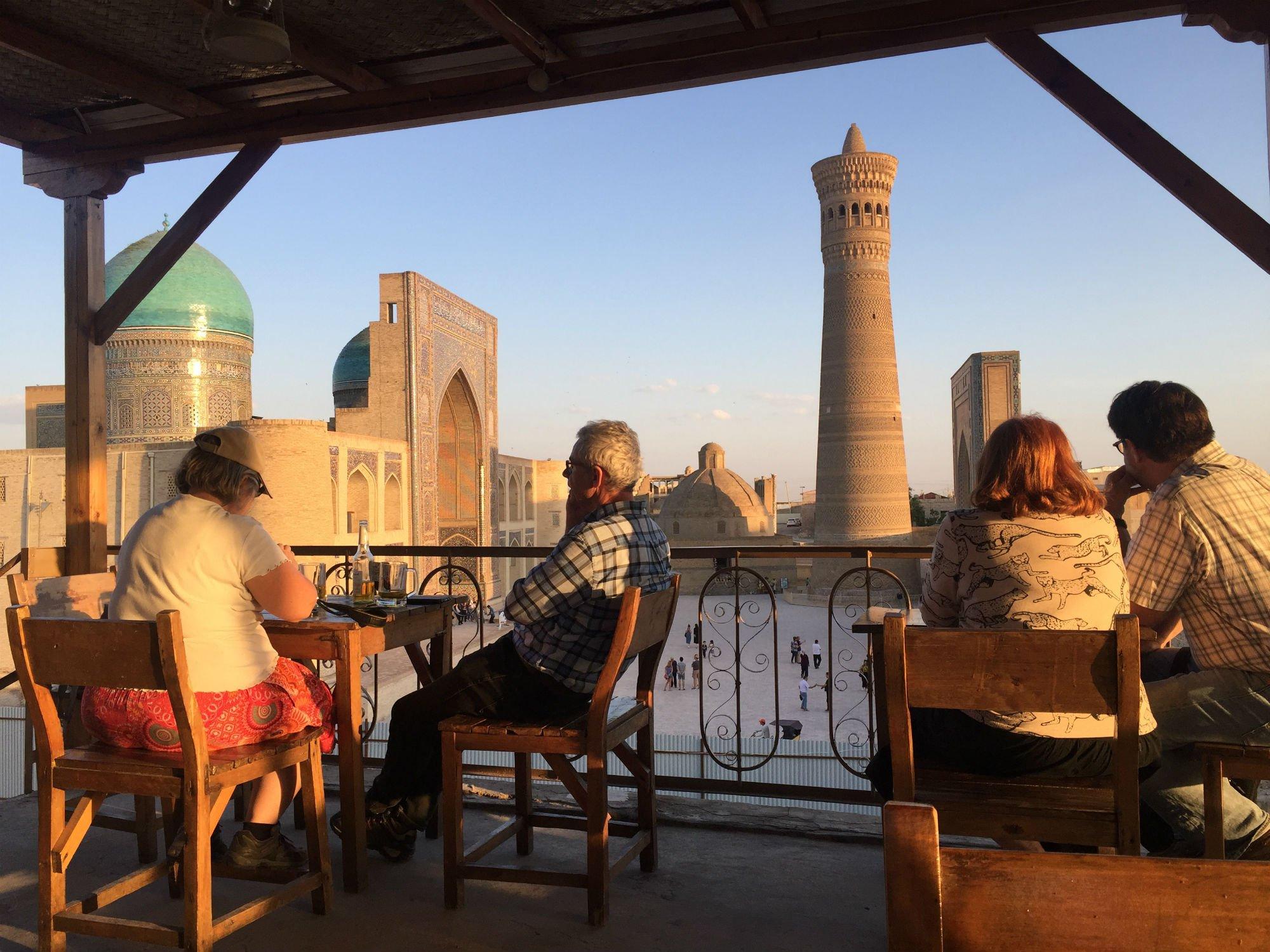 UZBEKISTAN Bukhara sunset VIAGGIO IN UZBEKISTAN