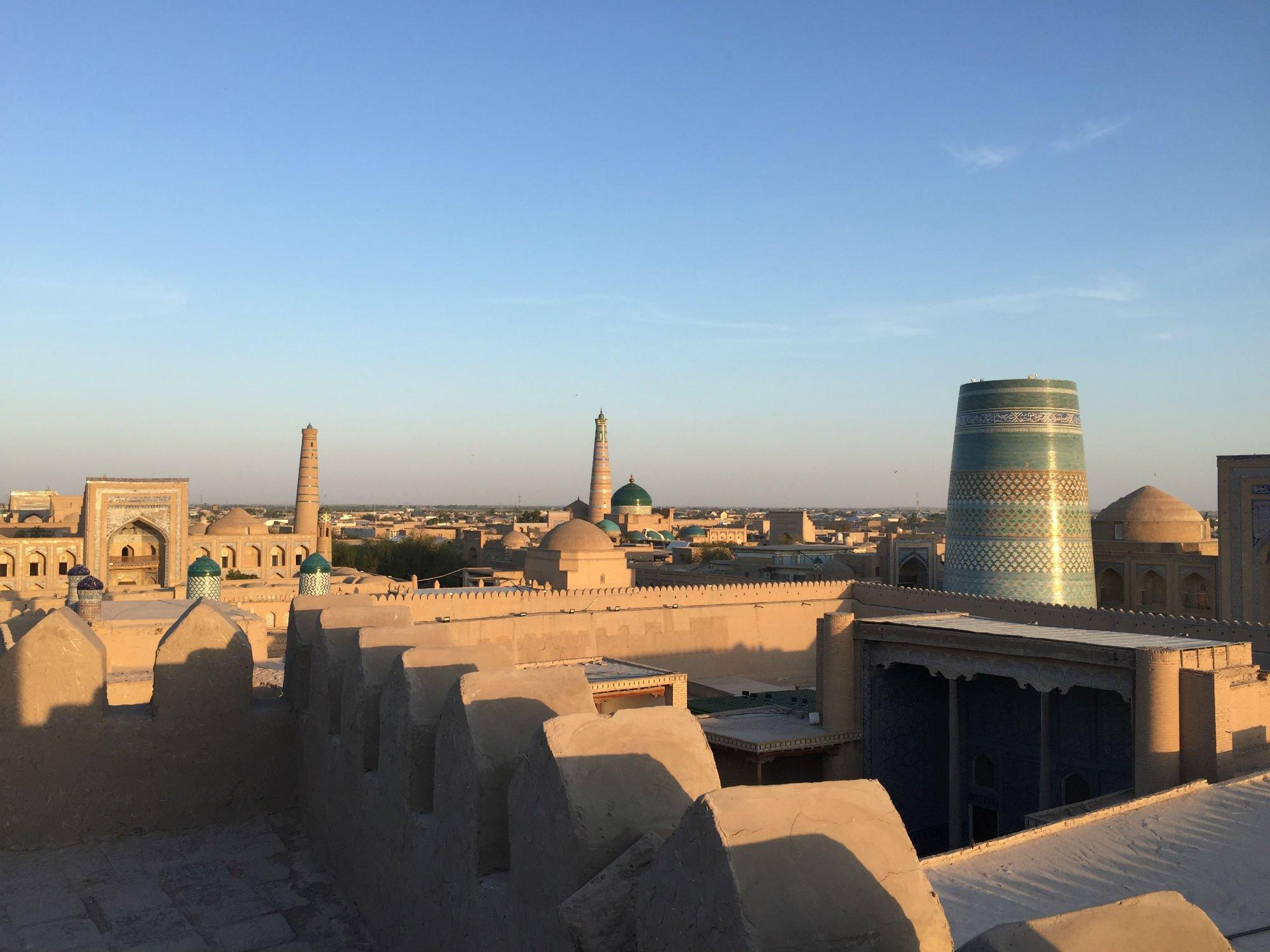 UZBEKISTAN Khiva 1 VIAGGIO IN UZBEKISTAN