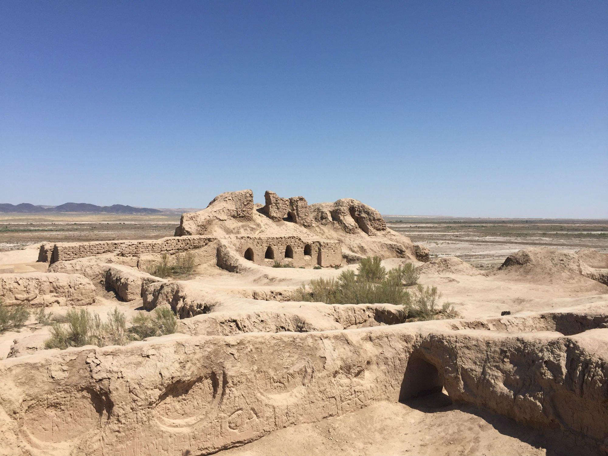 UZBEKISTAN Khiva fortezze nel deserto VIAGGIO IN UZBEKISTAN