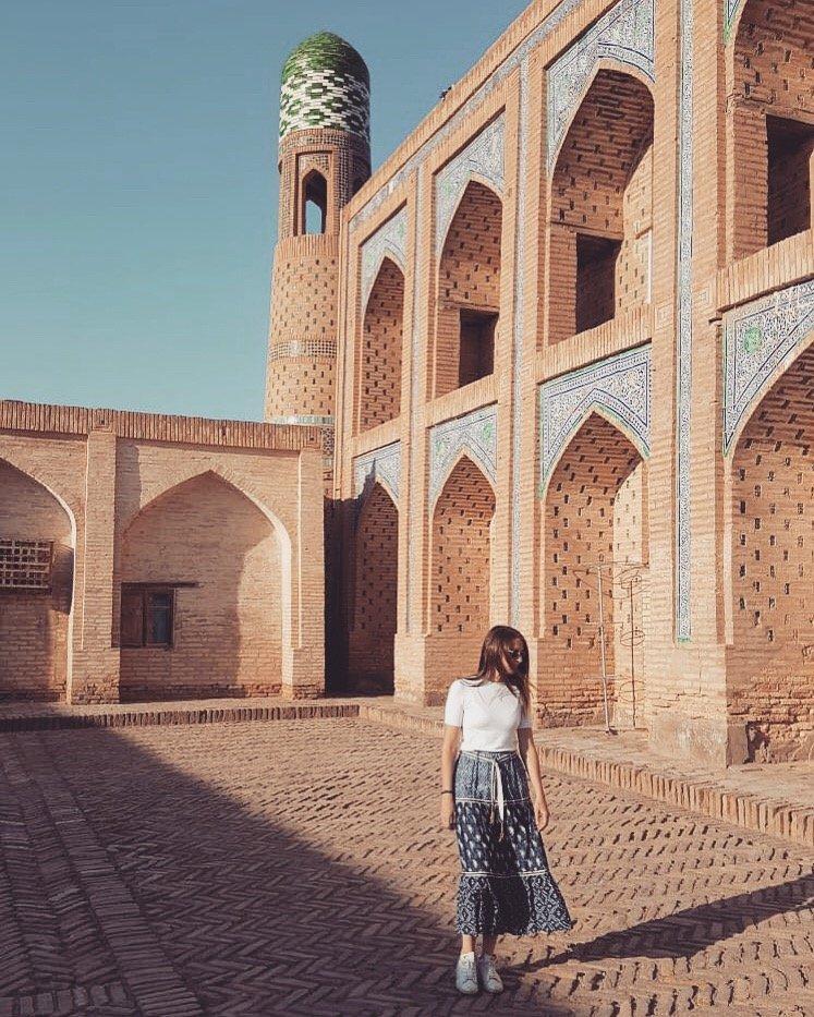 UZBEKISTAN Khiva interno di una madrasa VIAGGIO IN UZBEKISTAN